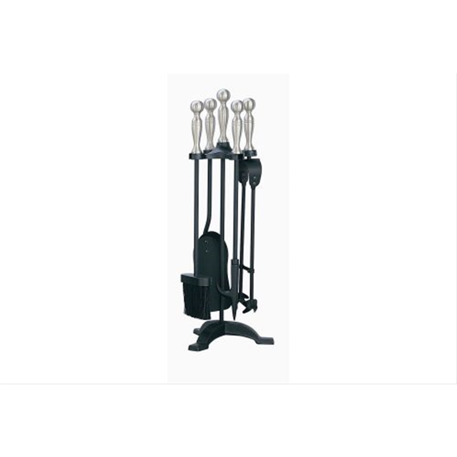 Image of Manor Companion Set, Black And Pewter