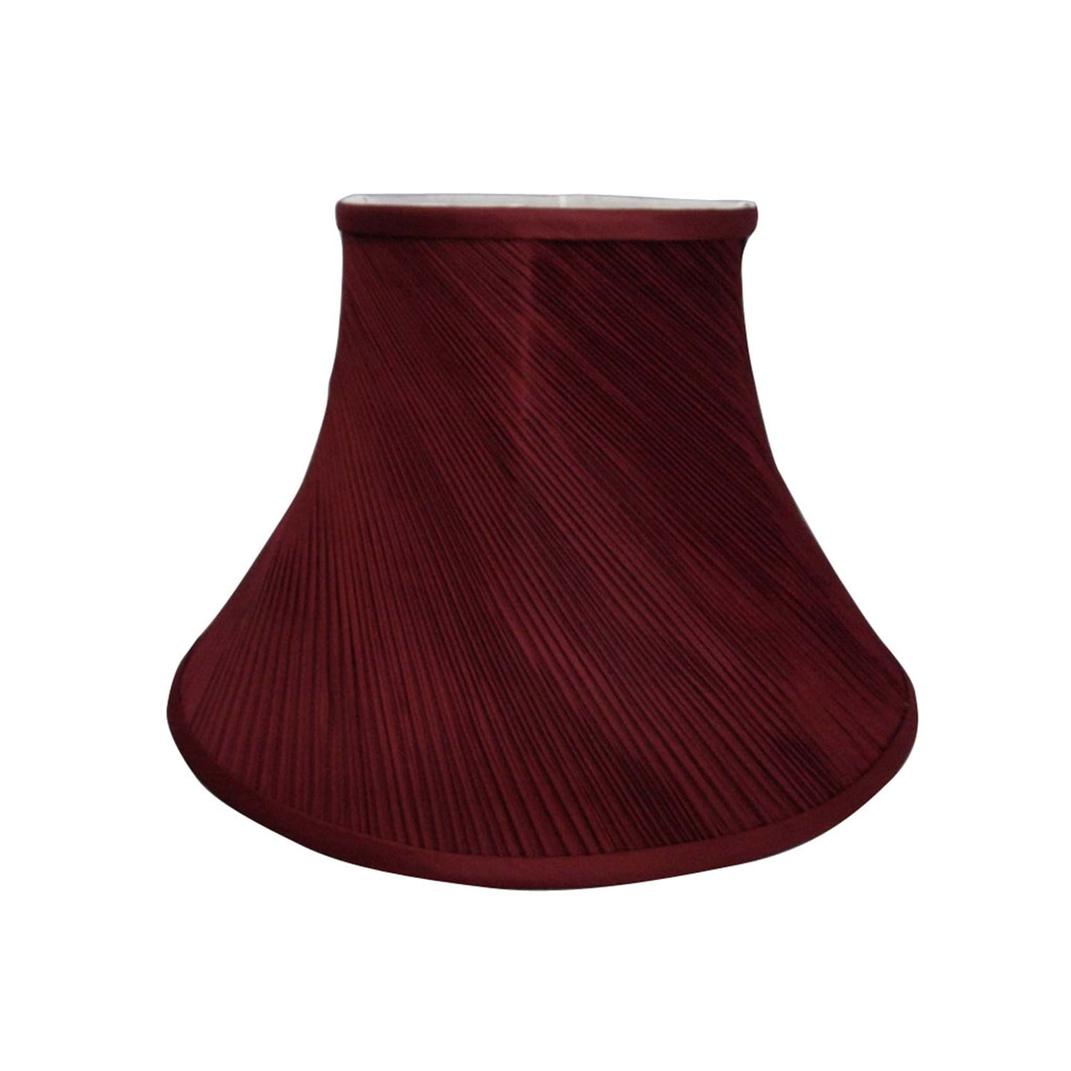 "10"" Twist Pleat Shade, Cranberry"