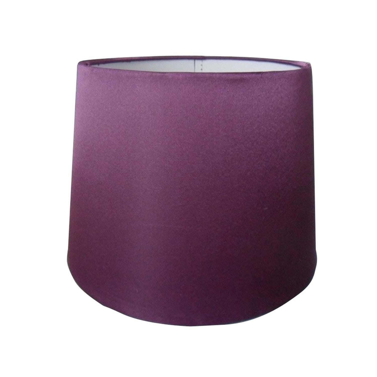 "10"" Silk Shade, Plum"