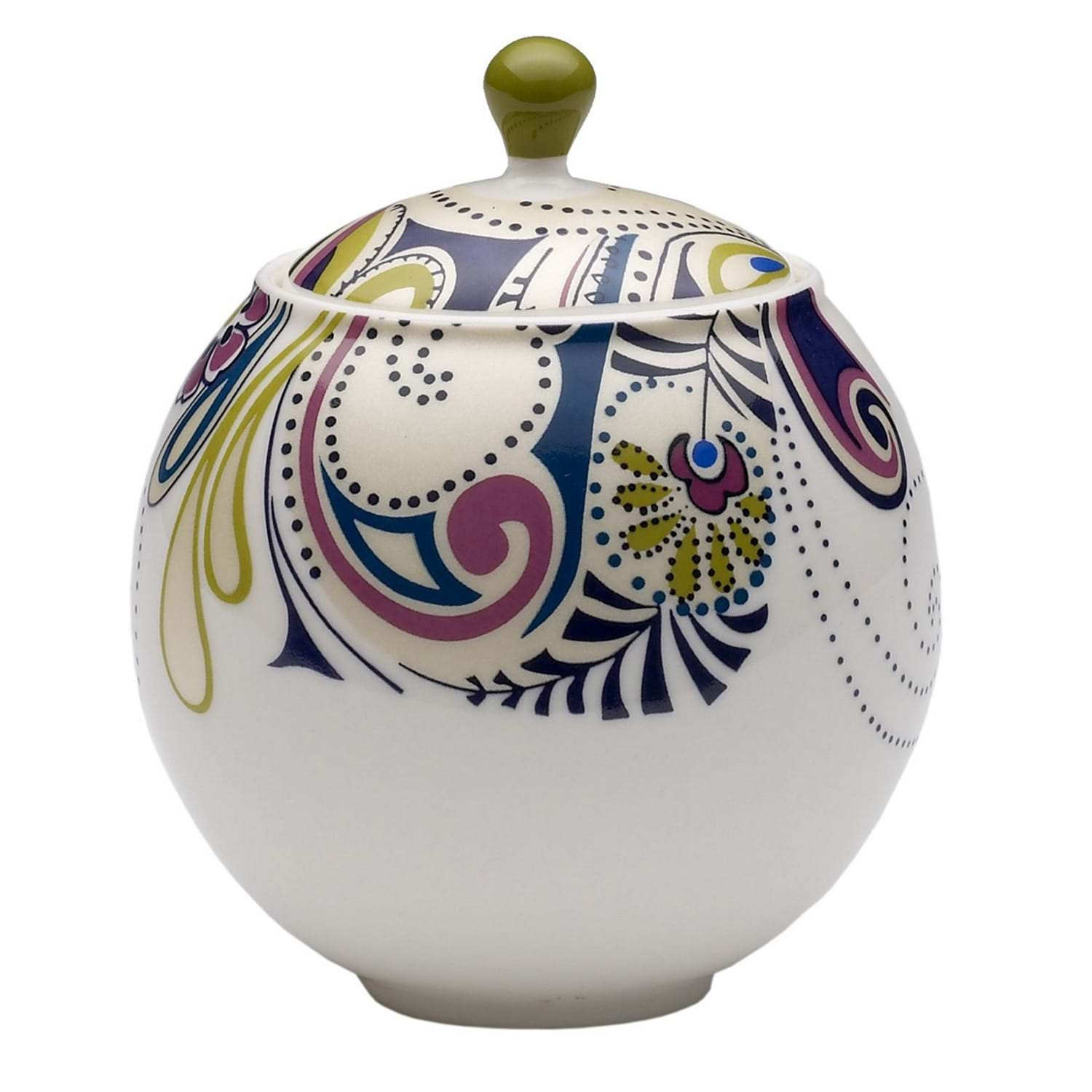 Image of Monsoon By Denby Cosmic Covered Sugar Bowl