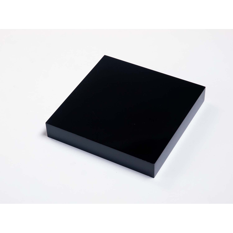 Image of Core Products 240mm Black Box Shelf Kit, Gloss Black