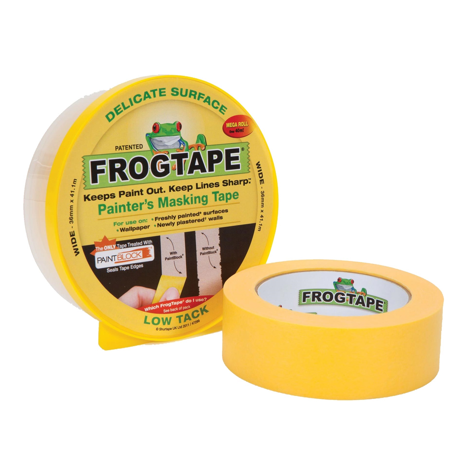 Image of Frog Tape 36mm X41.1m Delicate Tape