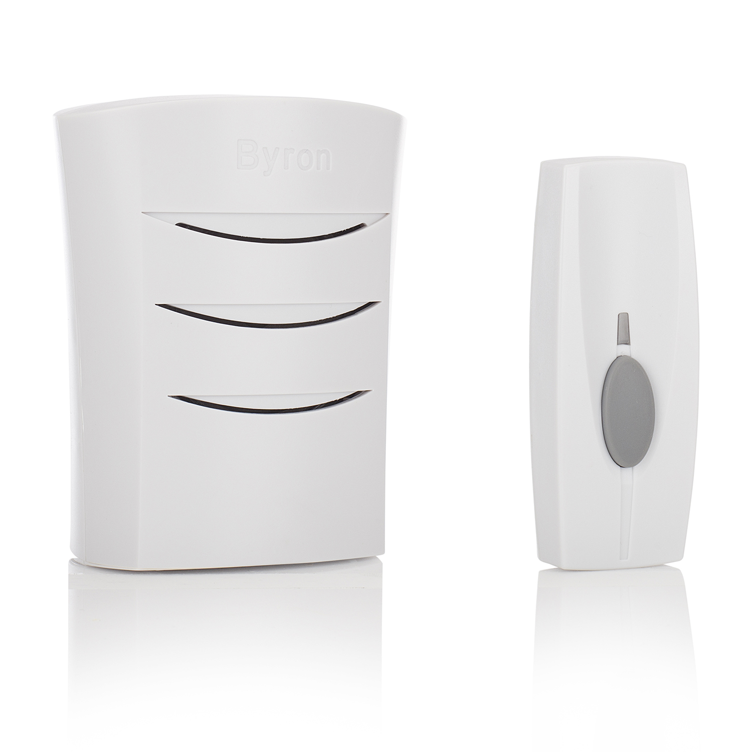 Image of Byron BY101 60m Wireless Doorbell with Portable Chime