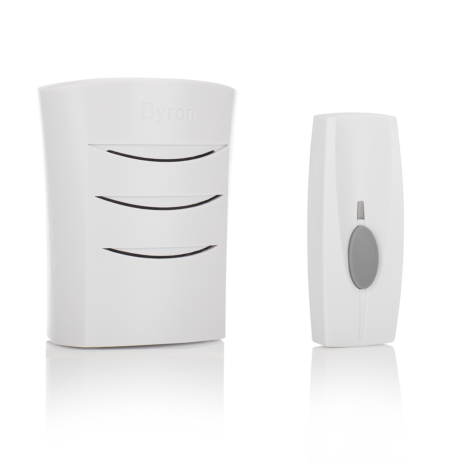 Image of Byron BY102 60m Wireless Doorbell with Plug In Chime
