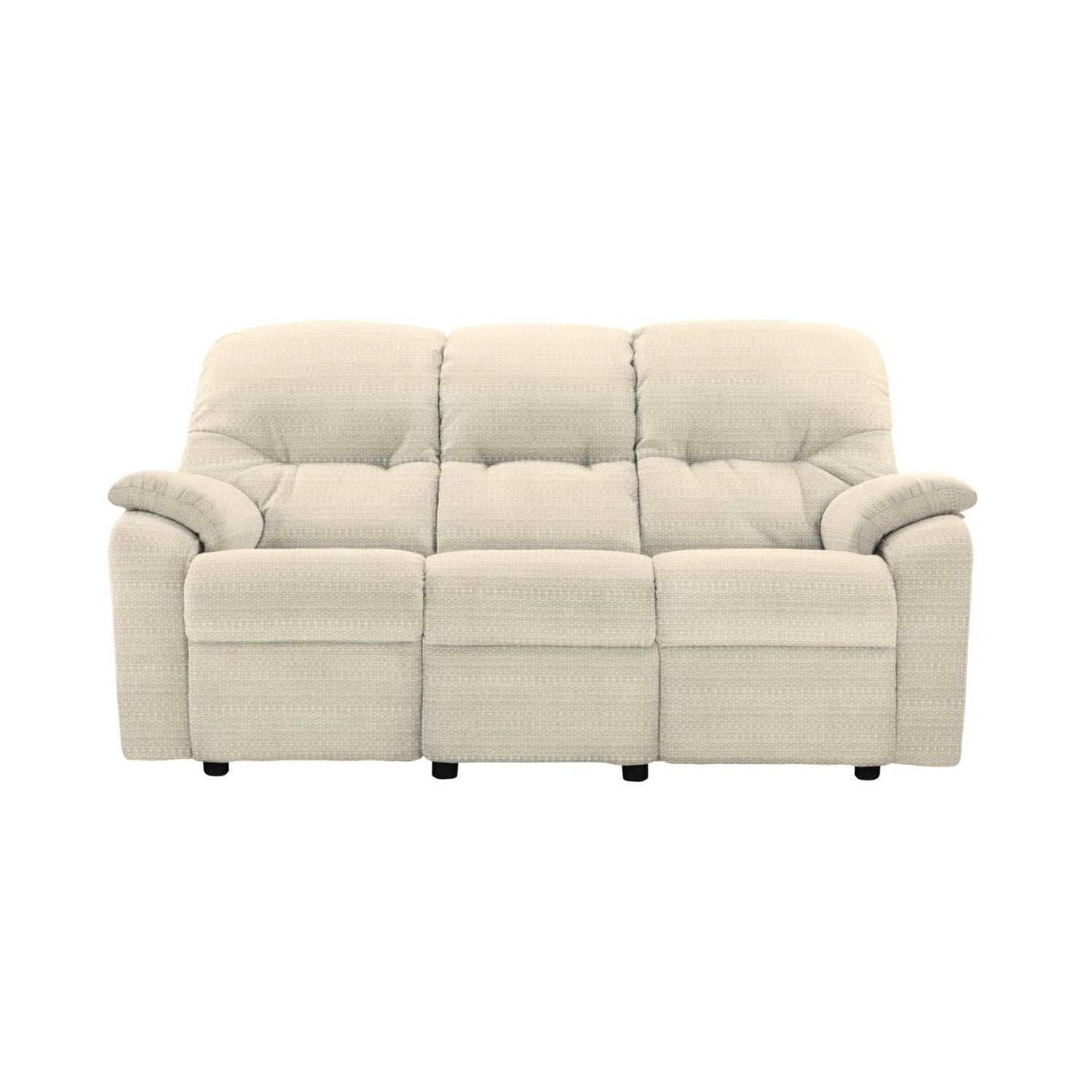 Image of G Plan Mistral 3 Seater Fabric Sofa, Small