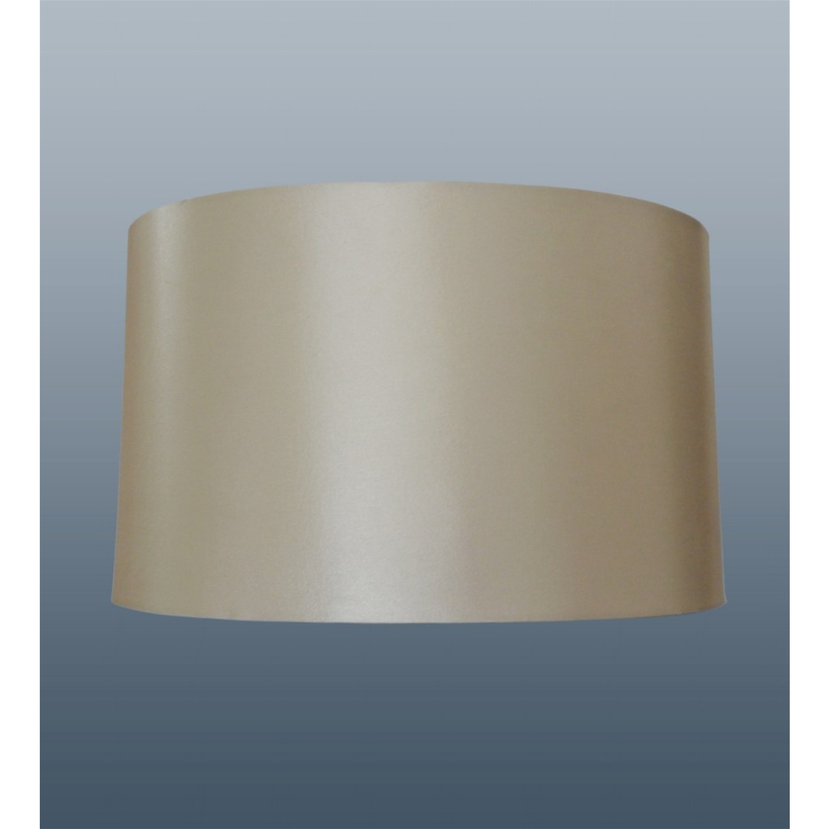 "14"" Oval Cream Silk Shade"