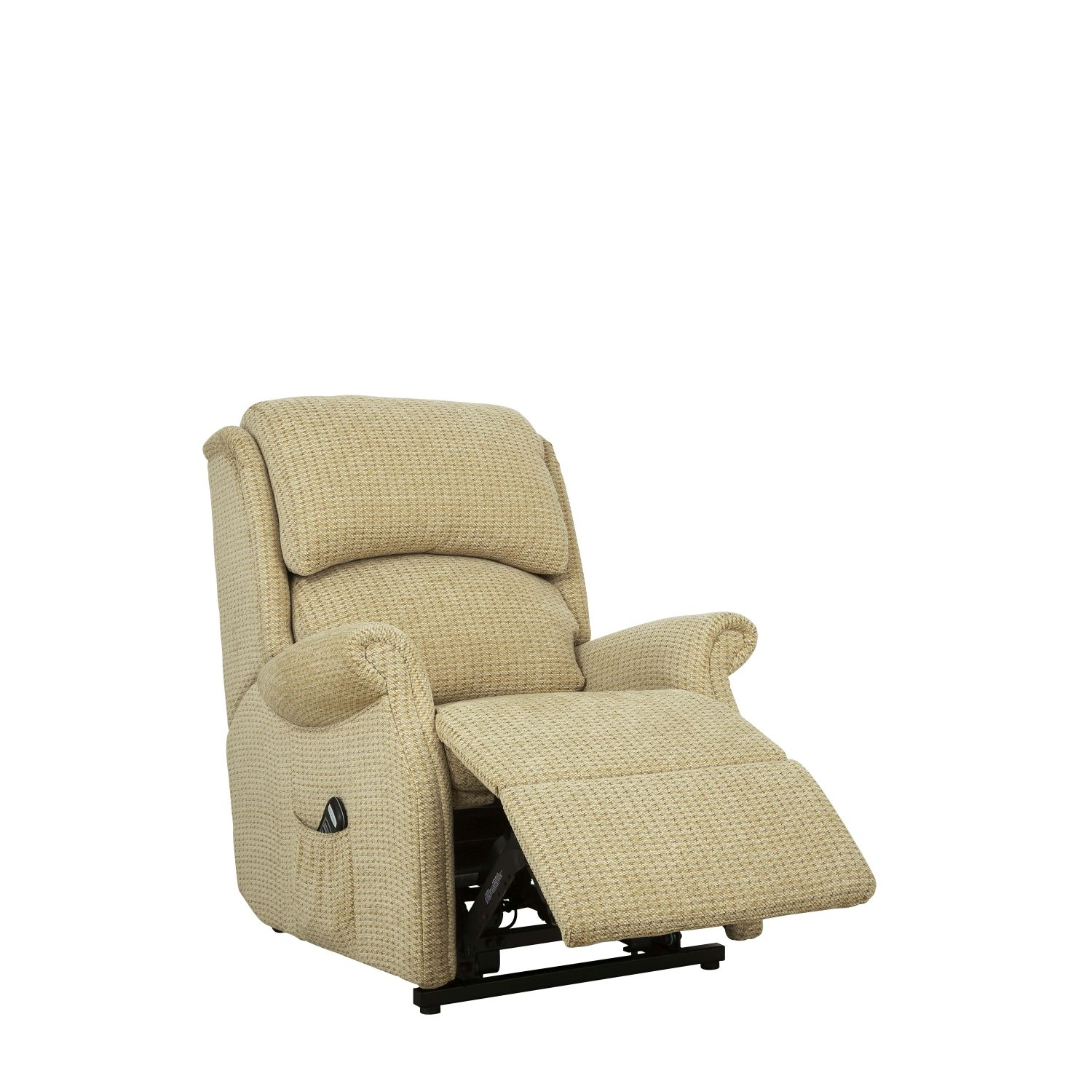 Image of Celebrity Regent Power Recliner Fabric Chair