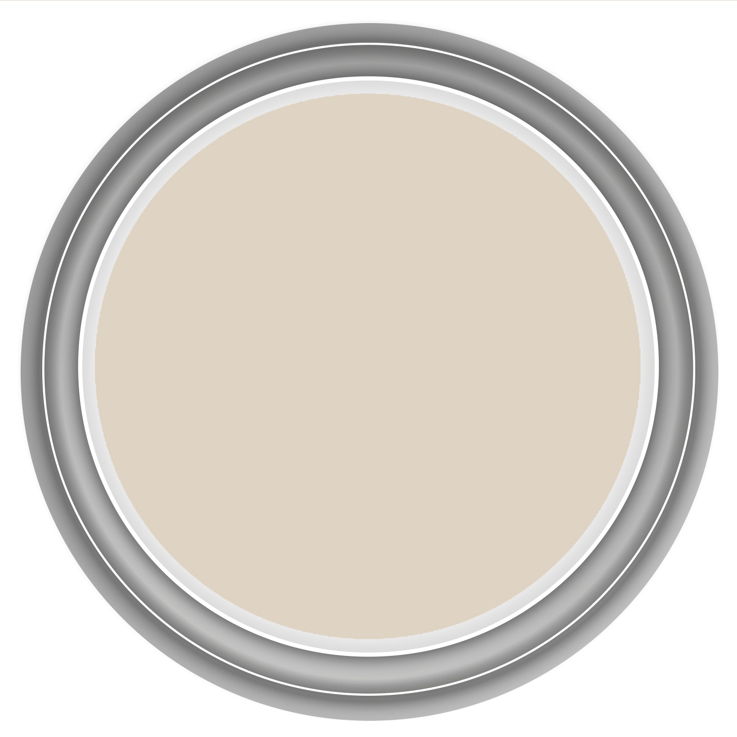 Image of Crown 2.5L Kitchen & Bathroom Mid Sheen Emulsion Paint, Wheatgrass