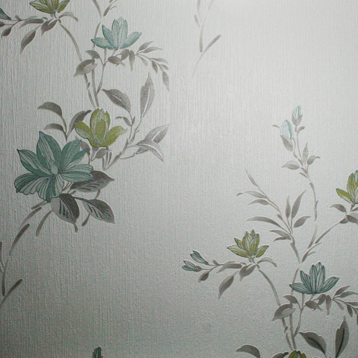 Image of Graham & Brown Superfresco Colours Wallpaper, Reed Green