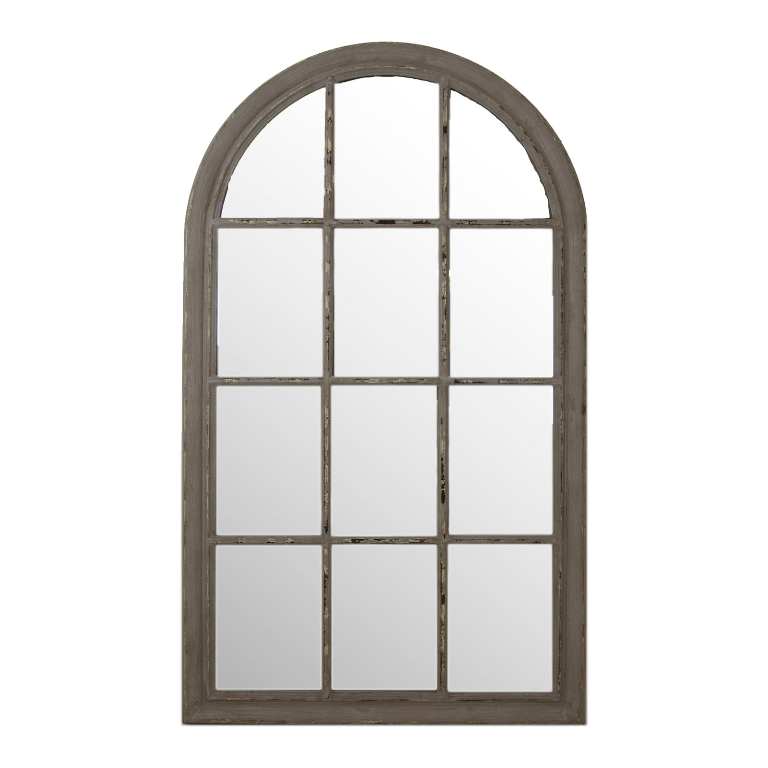 Runnymede 3 panel arch window mirror for How to decorate an arched window