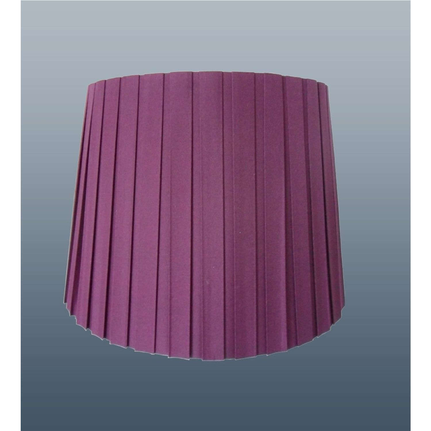 "11"" Box Pleat Lilac Shade"