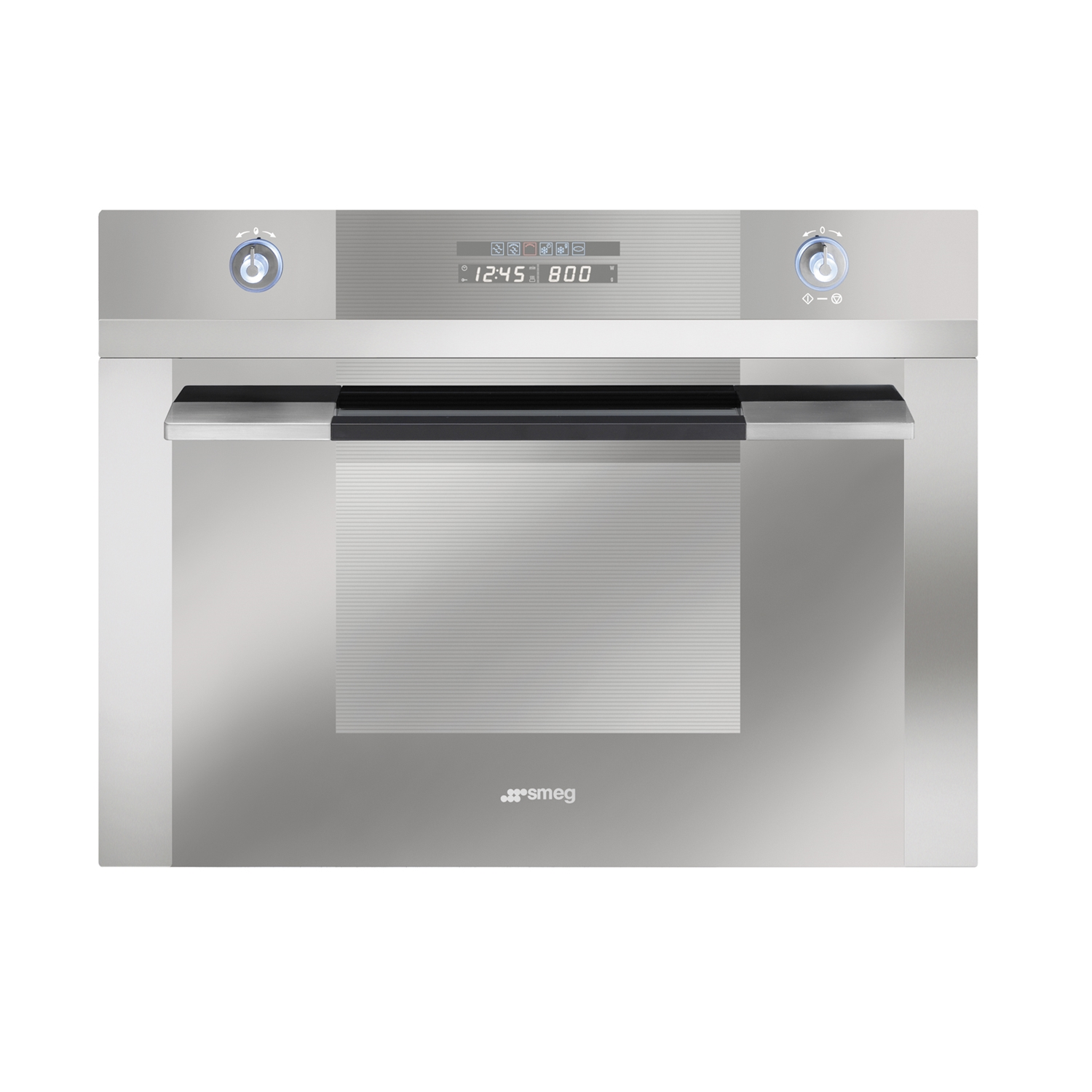 Aeg km8403021m compact height built in combination for Small built in microwave oven
