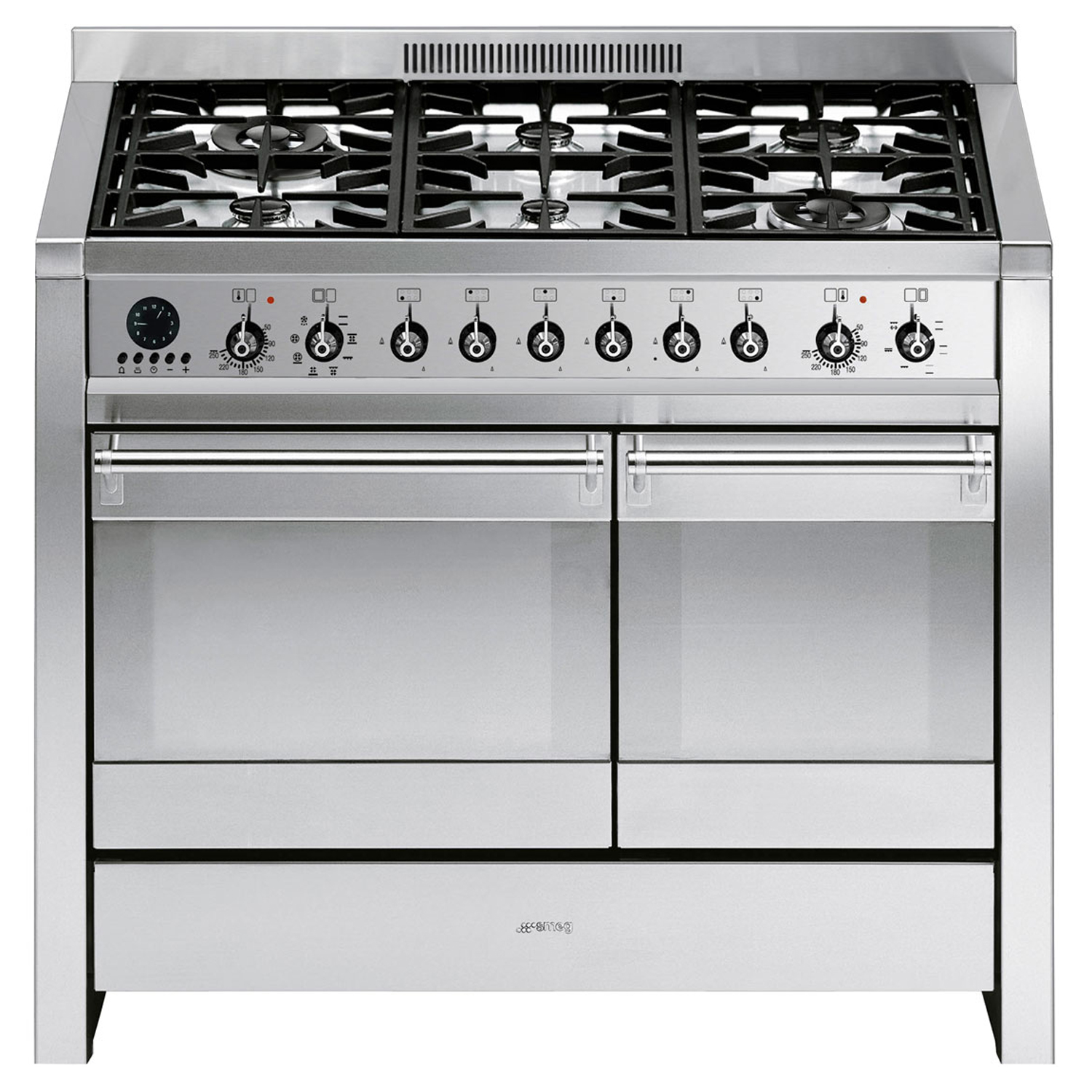 Smeg A2-8 Cooker 100cm, Stainless Steel