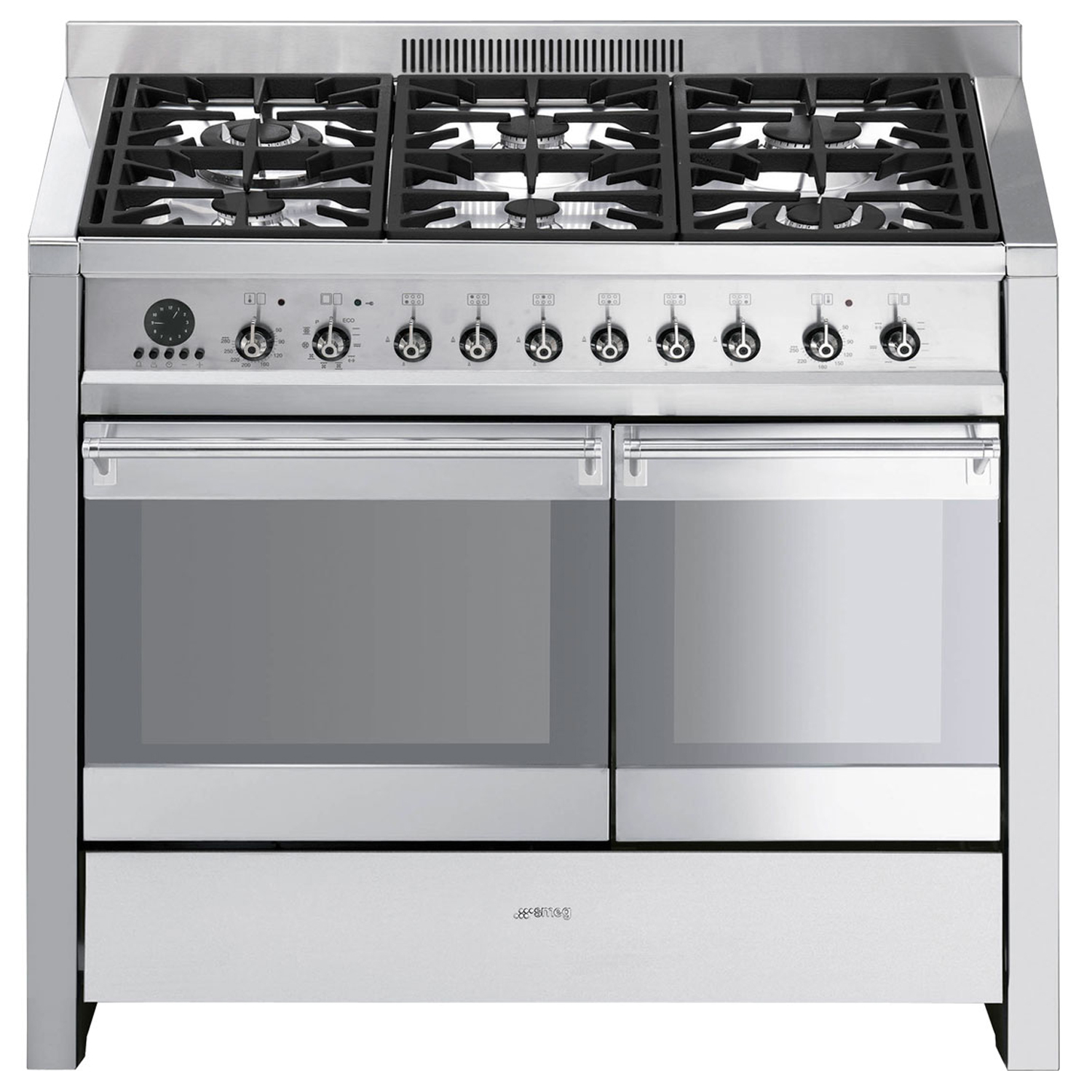 Smeg A2py-8 Cooker 100cm, Stainless Steel