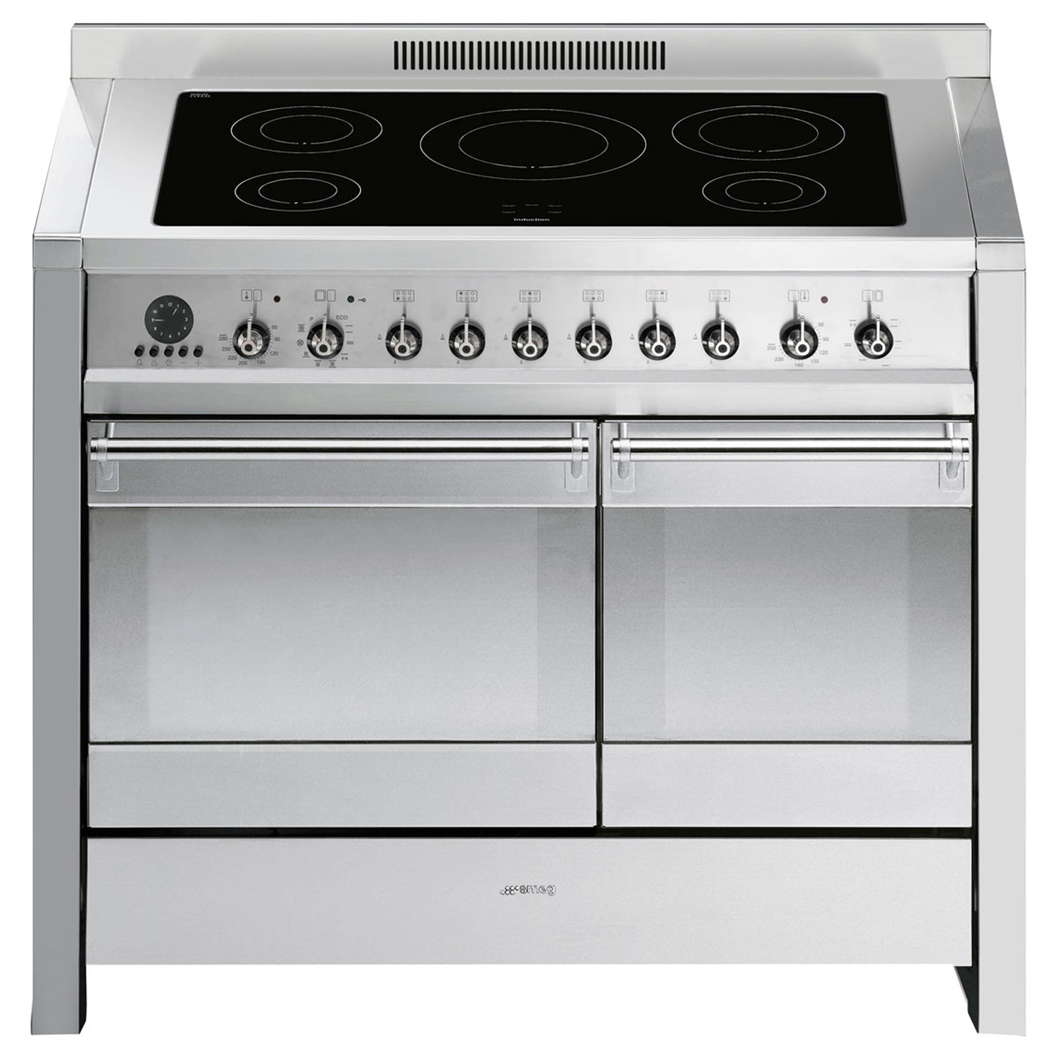 Smeg A2pyid-8 Cooker 100cm, Stainless Steel