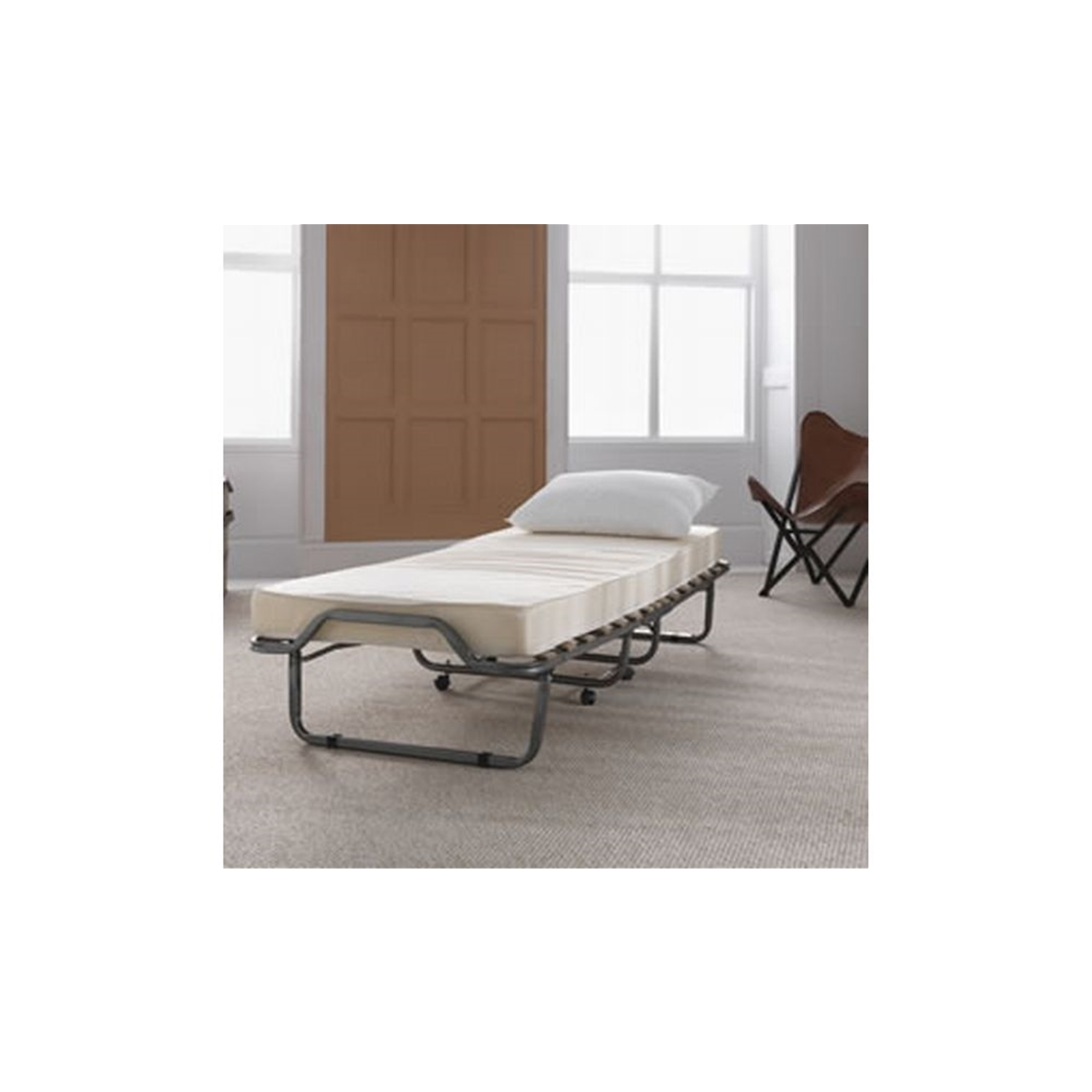 Image of Casa Luxor 120cm Folding Bed, Small Double