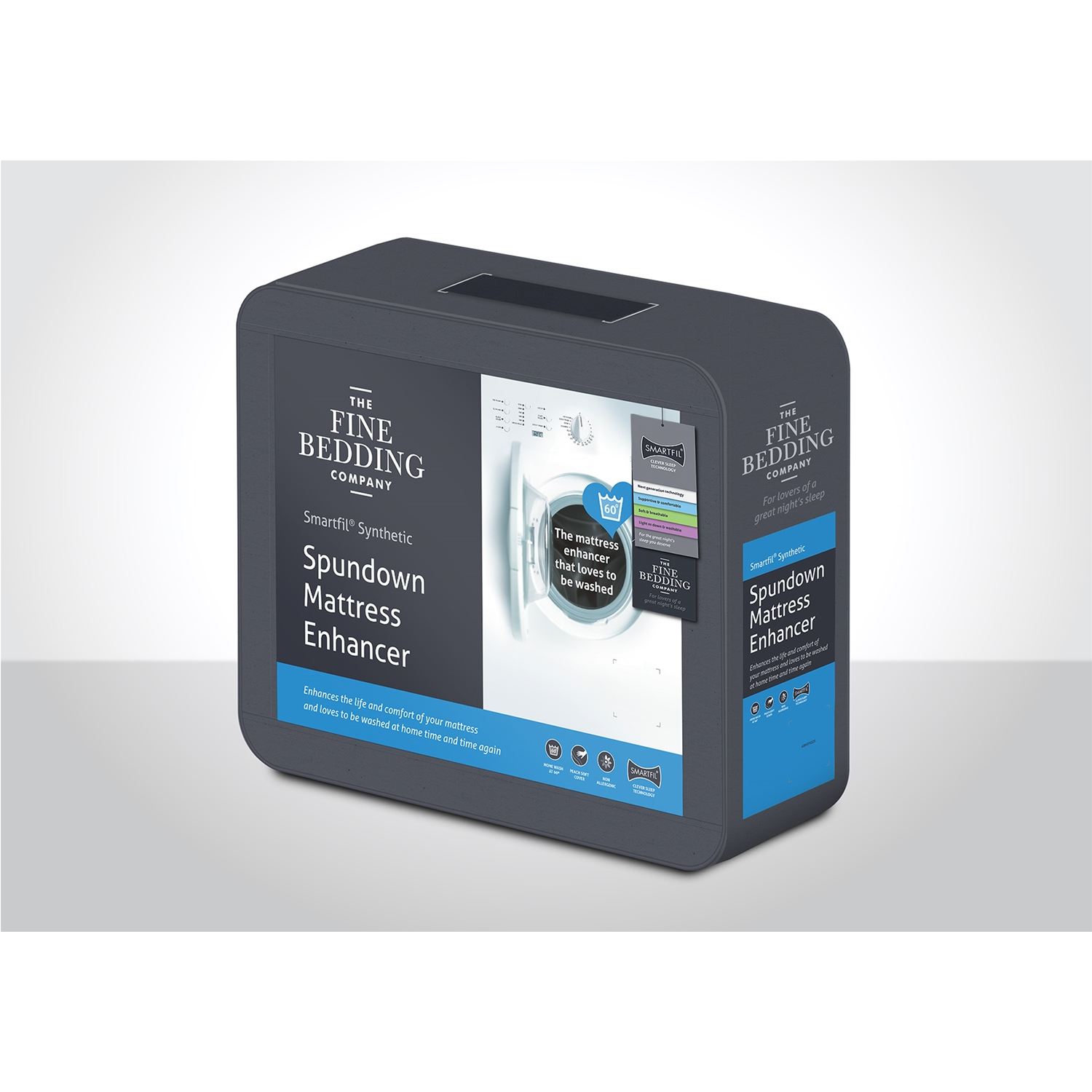 Image of Fine Bedding Company Spundown Mattress Enhancer, Single