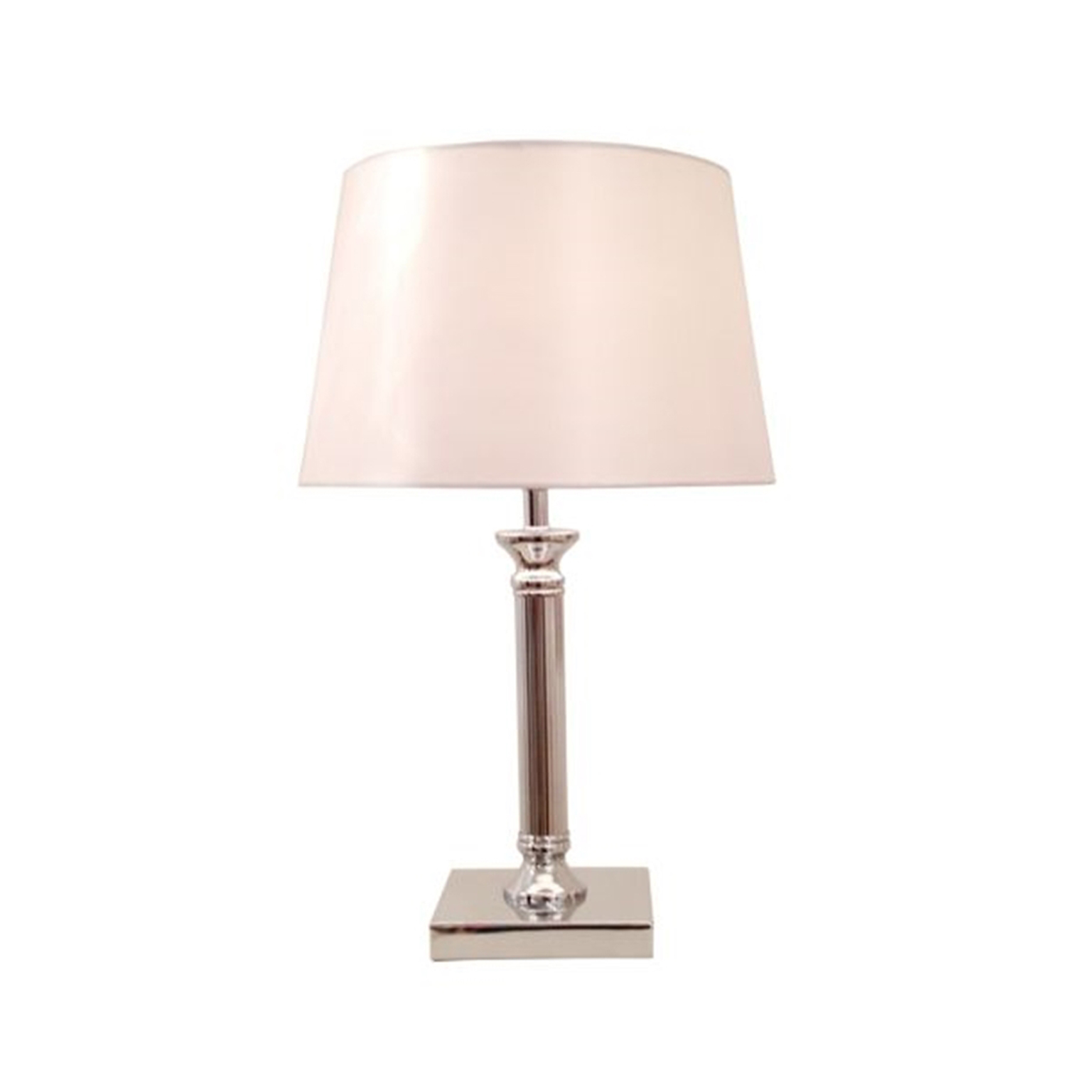 "12"" Mansion Table Lamp, White"