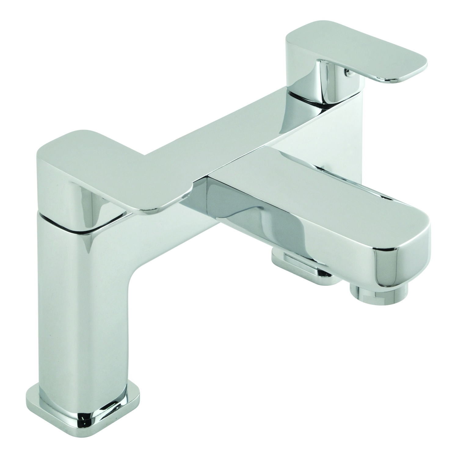 Image of Casa Palma 2 Hole Deck Mounted Bath Filler, Chrome