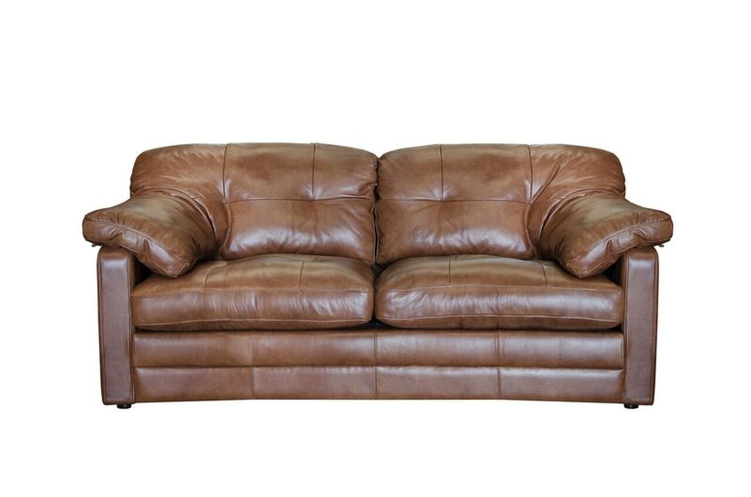 Image of Alexander & James Bailey 2 Seater Leather Sofa