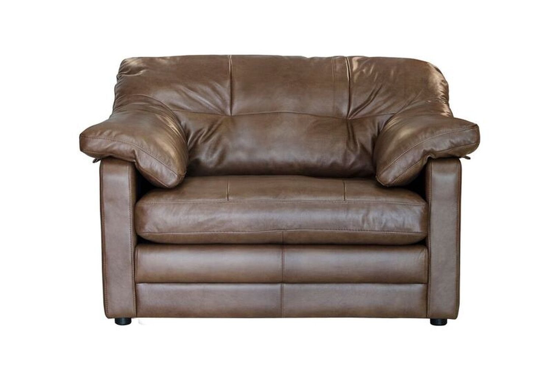 Image of Alexander & James Bailey Snuggler Leather Armchair