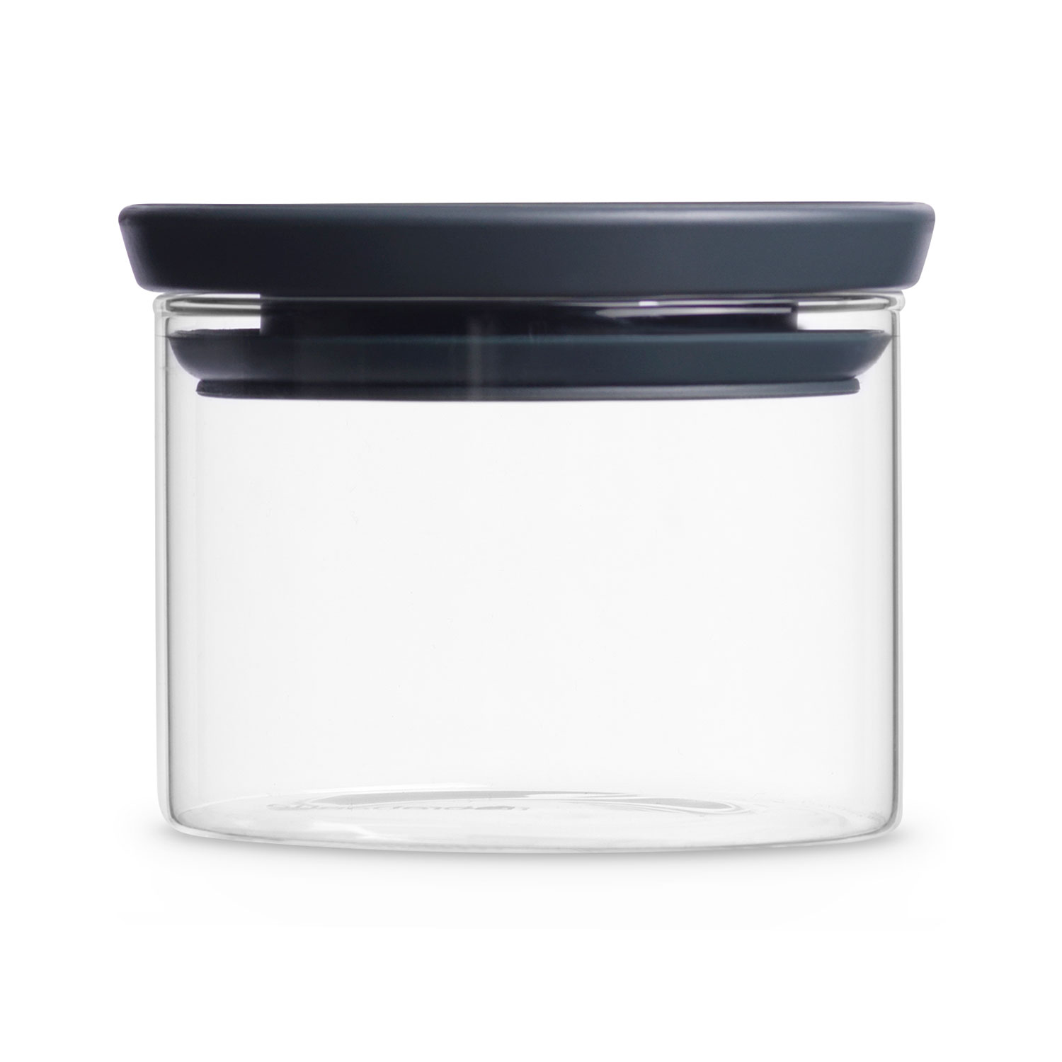 Brabantia Glass Jar 035l Grey Leekes