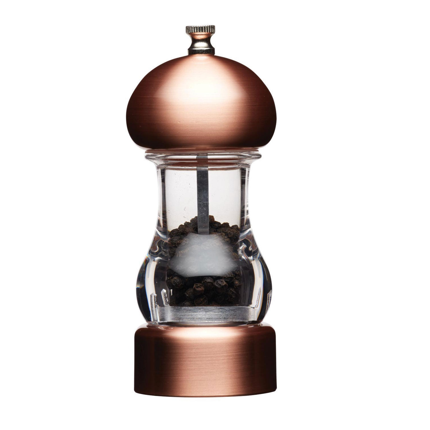 Image of Kitchencraft Filled Capstan Pepper Mill, Glass