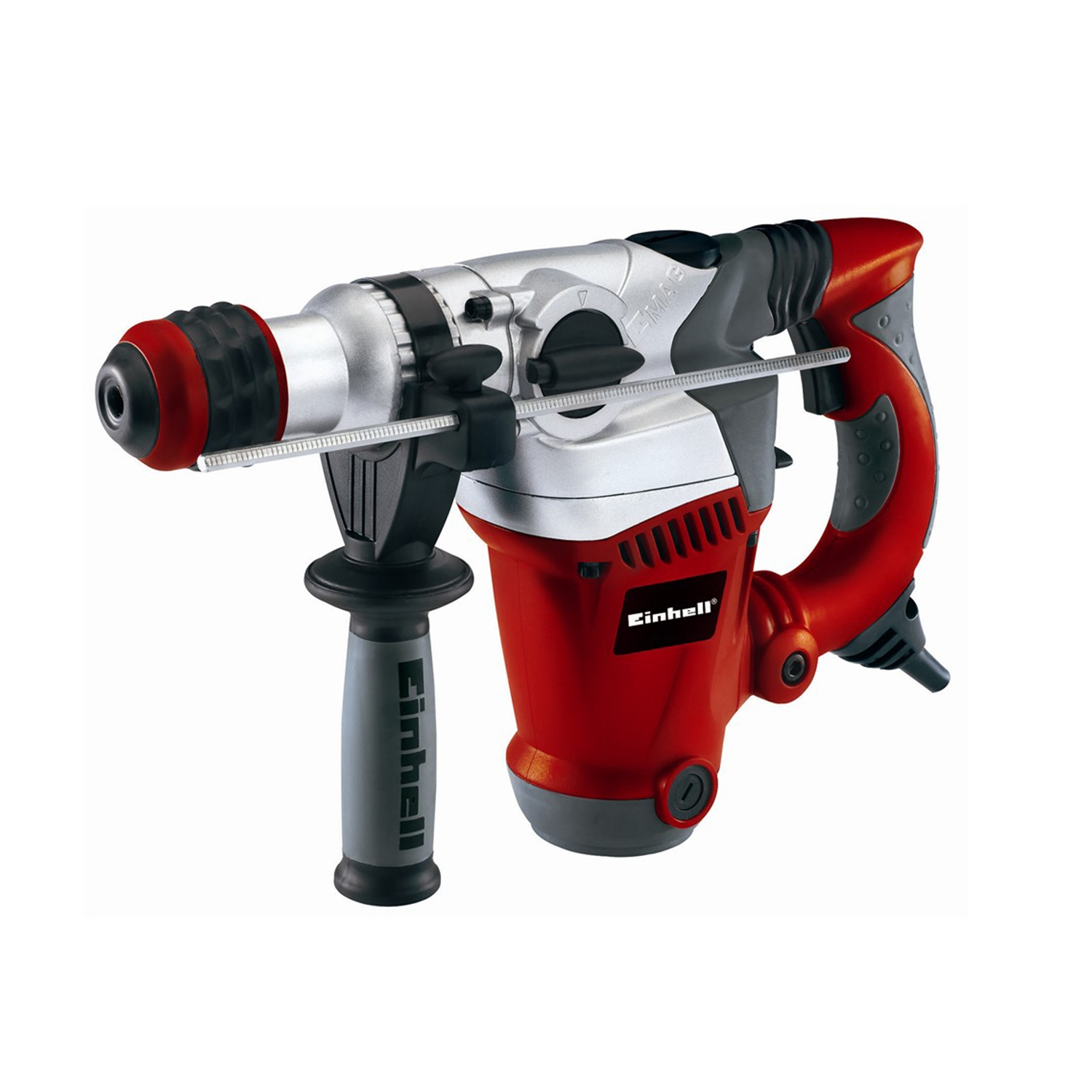 Image of Einhell Red 1250w Rotary Hammer, Black