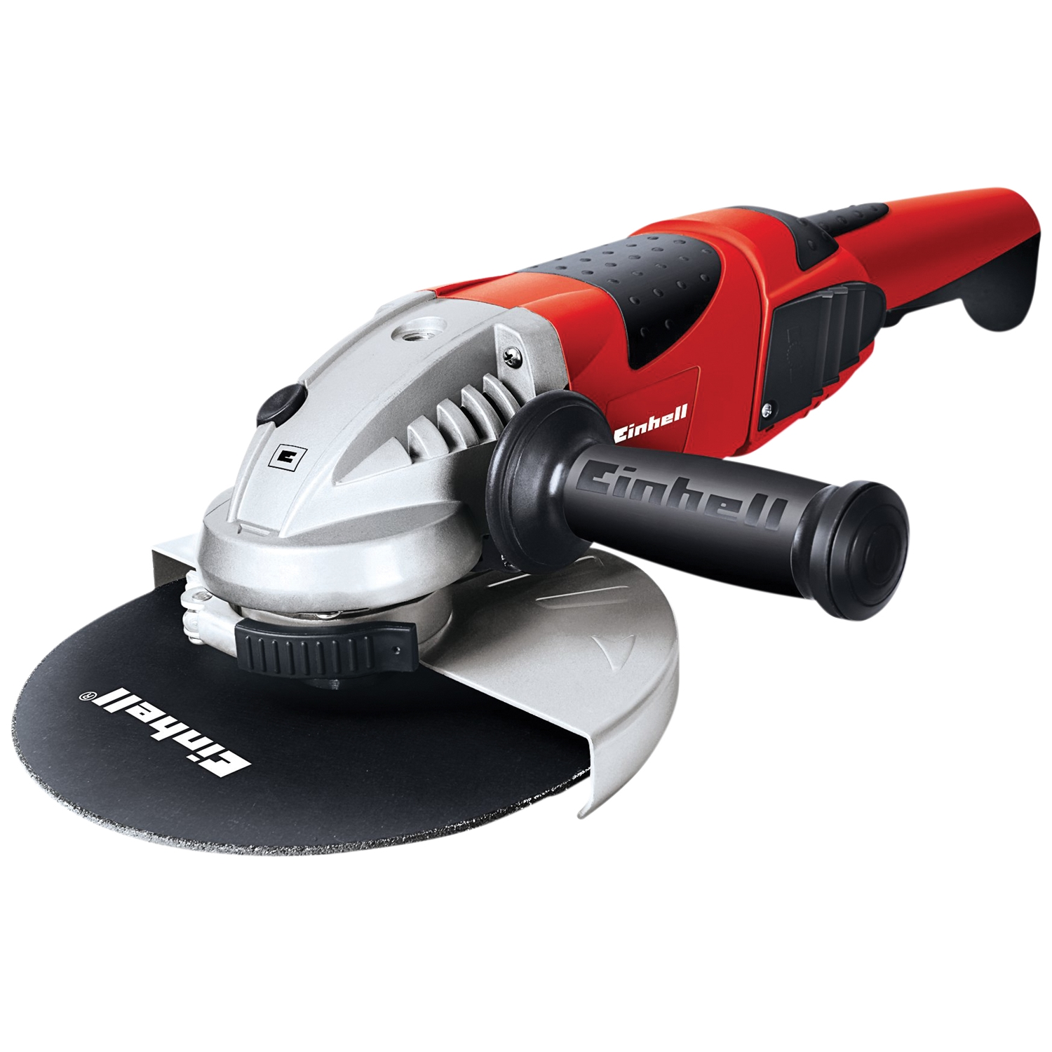 Image of Einhell Red 2000w Angle Grinder 230mm, Black