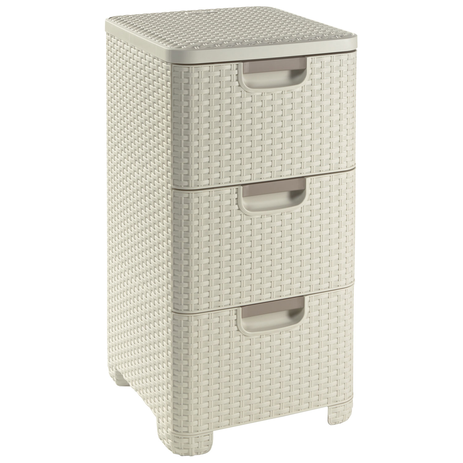 Image of Curver Style 3 Drawer Tower