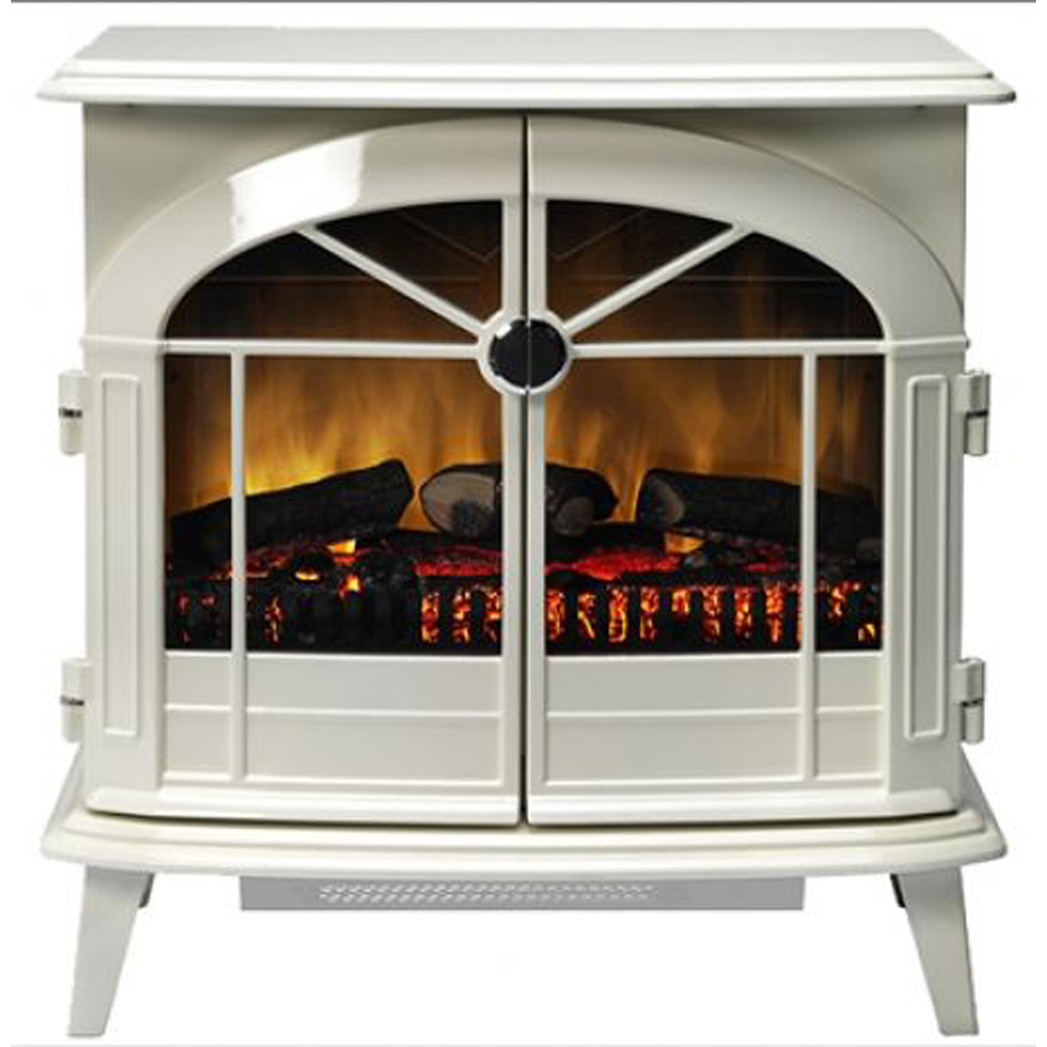 Image of Dimplex Chevalier Optiflame Stove, White