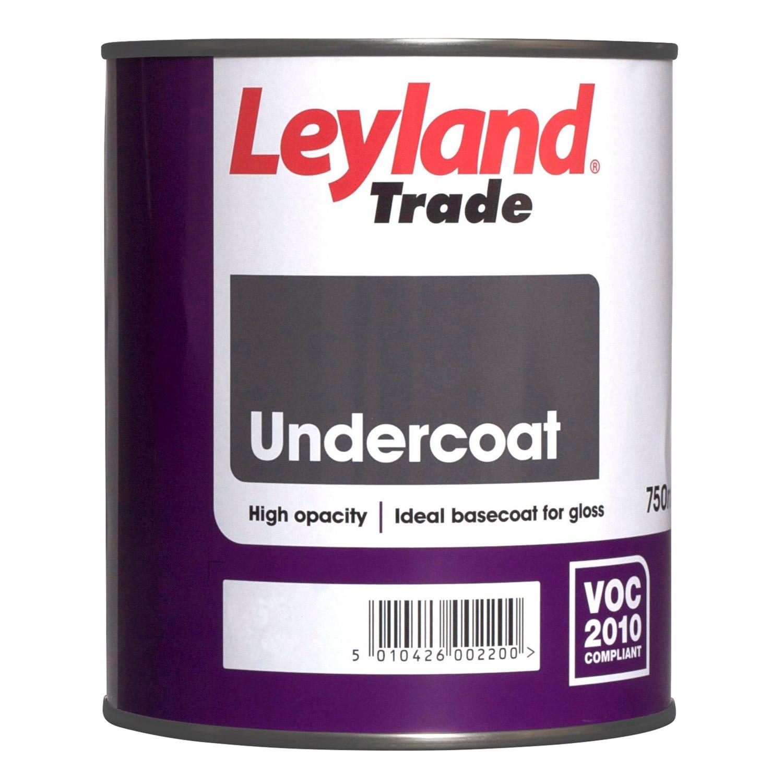 Leyland 750ml Undercoat Paint, White