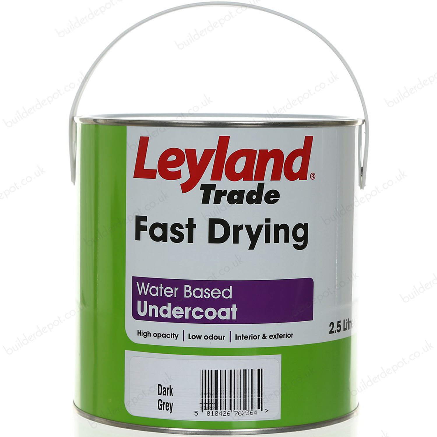 Image of Leyland 2.5L Fast Drying Undercoat Paint, Brilliant White