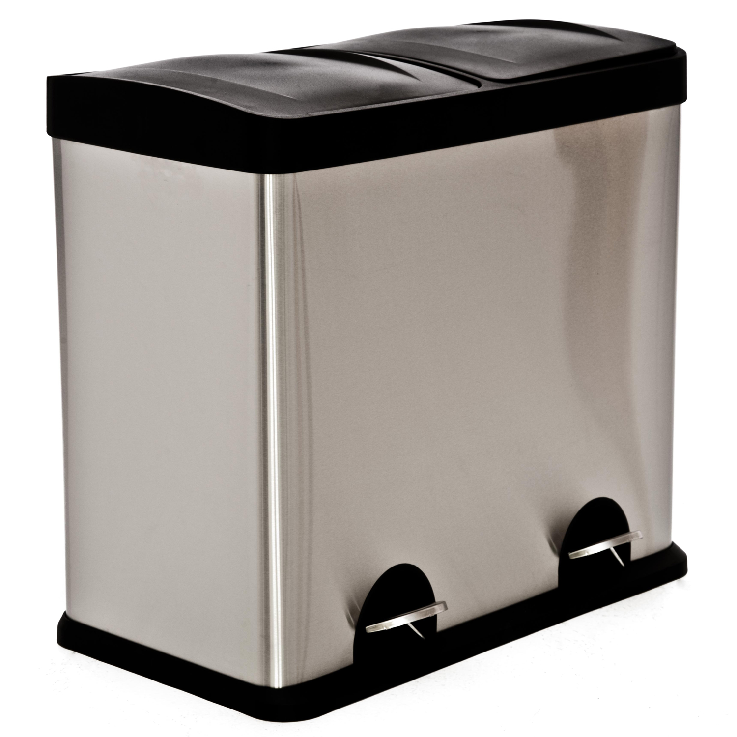 40l Recycle Bin, Stainless Steel