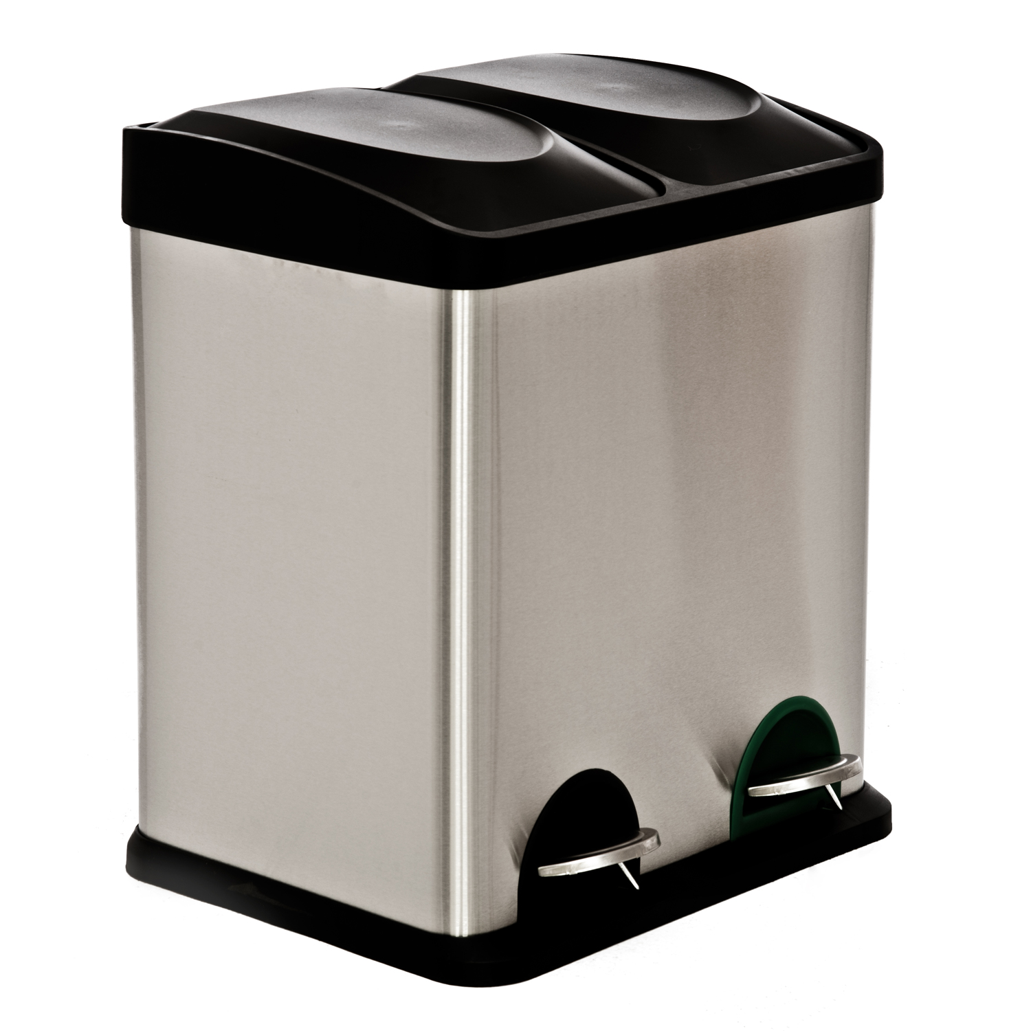 30l Recycle Bin, Stainless Steel