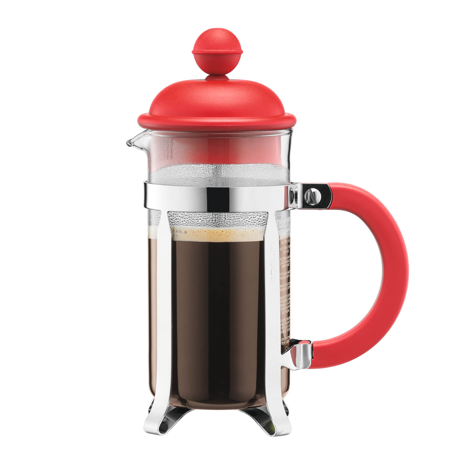 Image of Bodum Caffettiera Coffeemaker 3-cup, Red