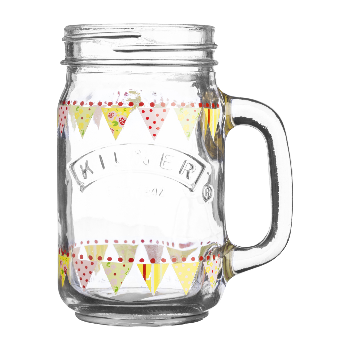 Image of Kilner 0.4l Bunting Handled Jar