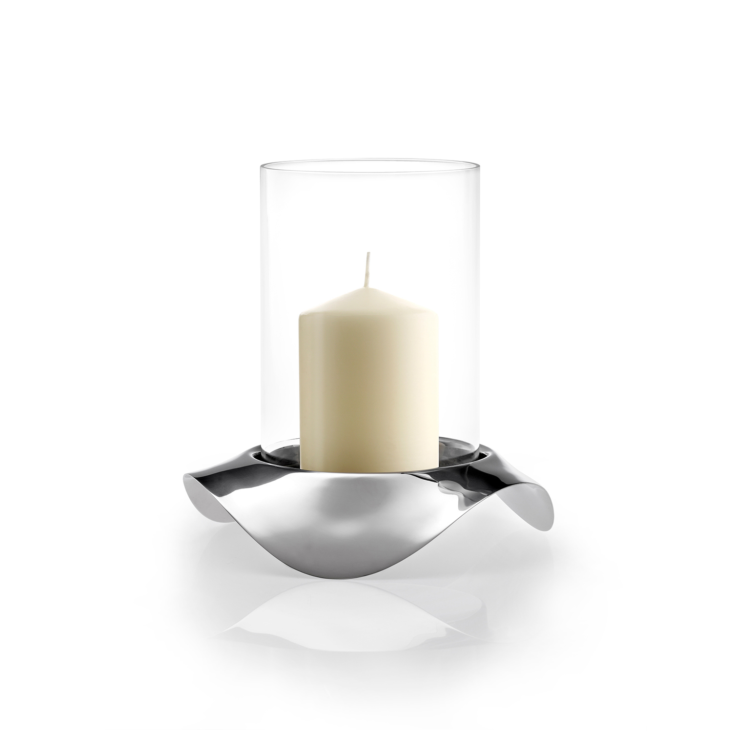 Image of Robert Welch Drift Hurricane Lamp, Stainless Steel