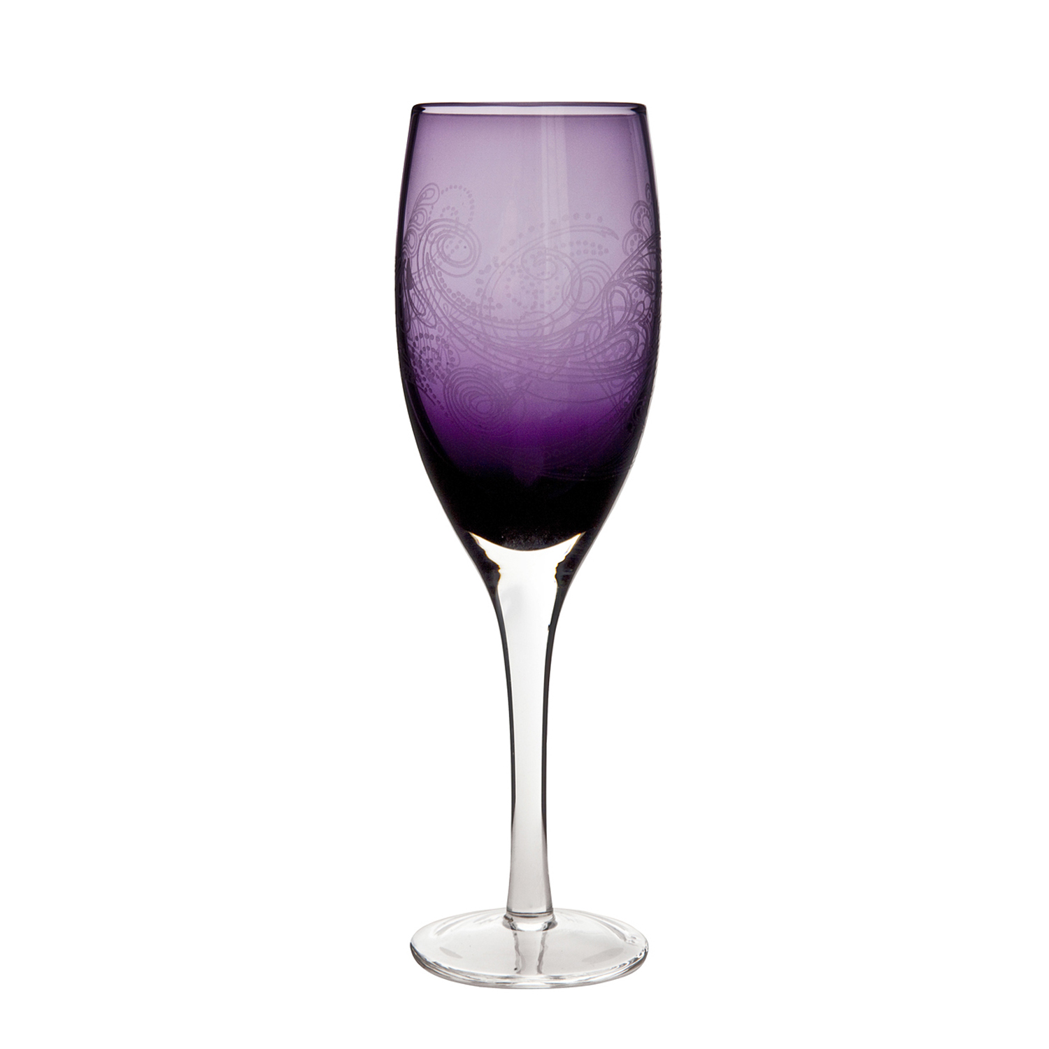 Image of Monsoon By Denby Cosmic White Wine Glasses, Set Of 2