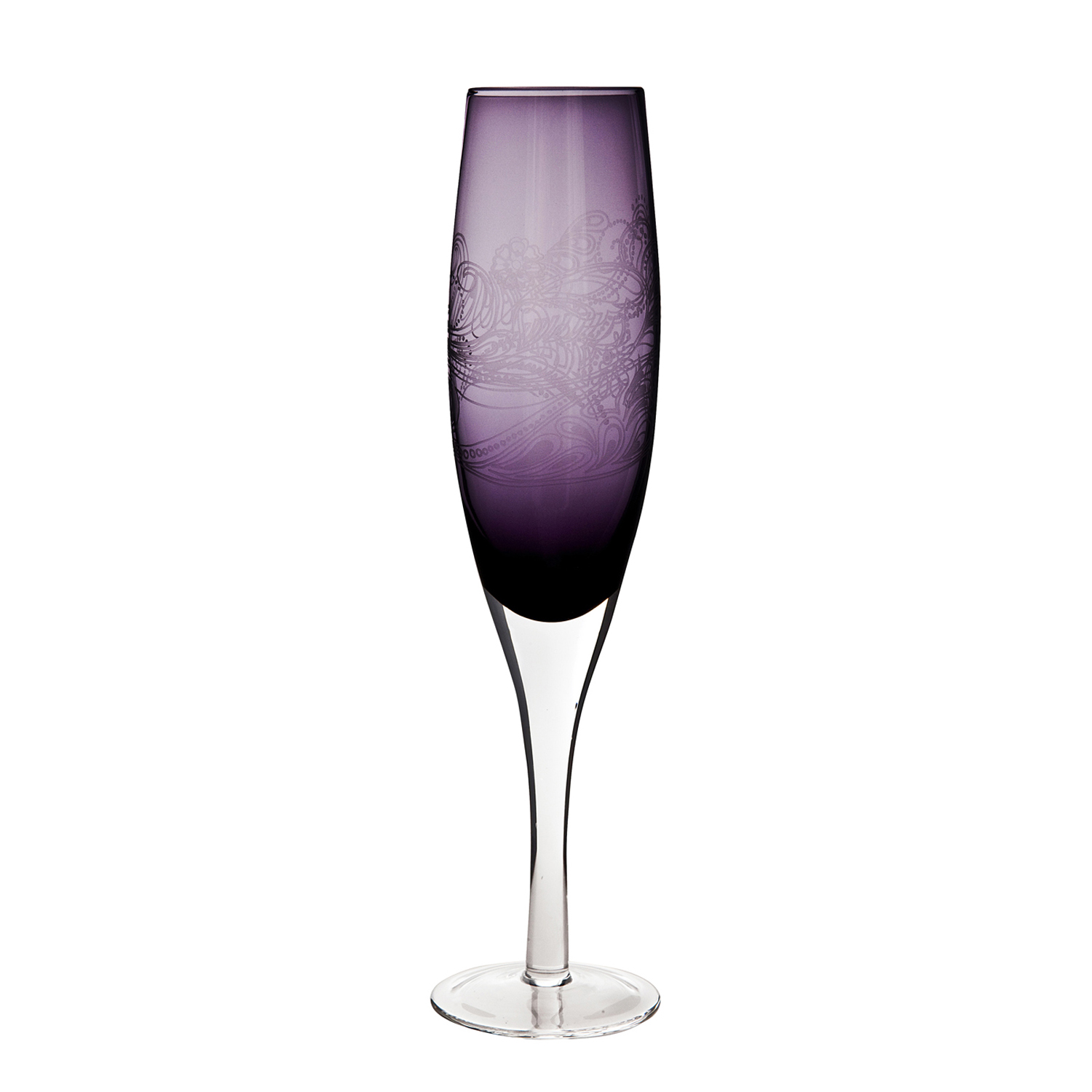 Image of Monsoon By Denby Cosmic Champagne Flutes, Set Of 2
