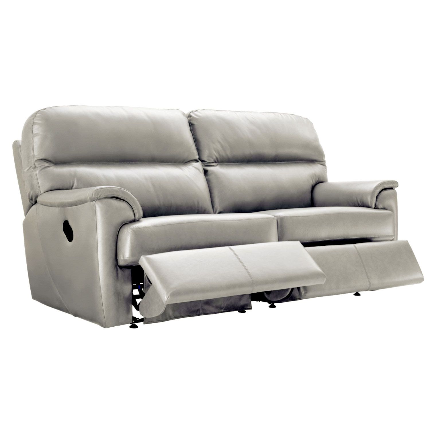 Image of G Plan Watson 3 Seater Double Recliner Leather Sofa