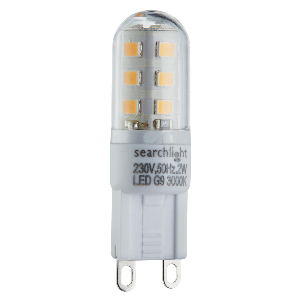 2w Led G9 Bulb 200 Lumens, Warm White