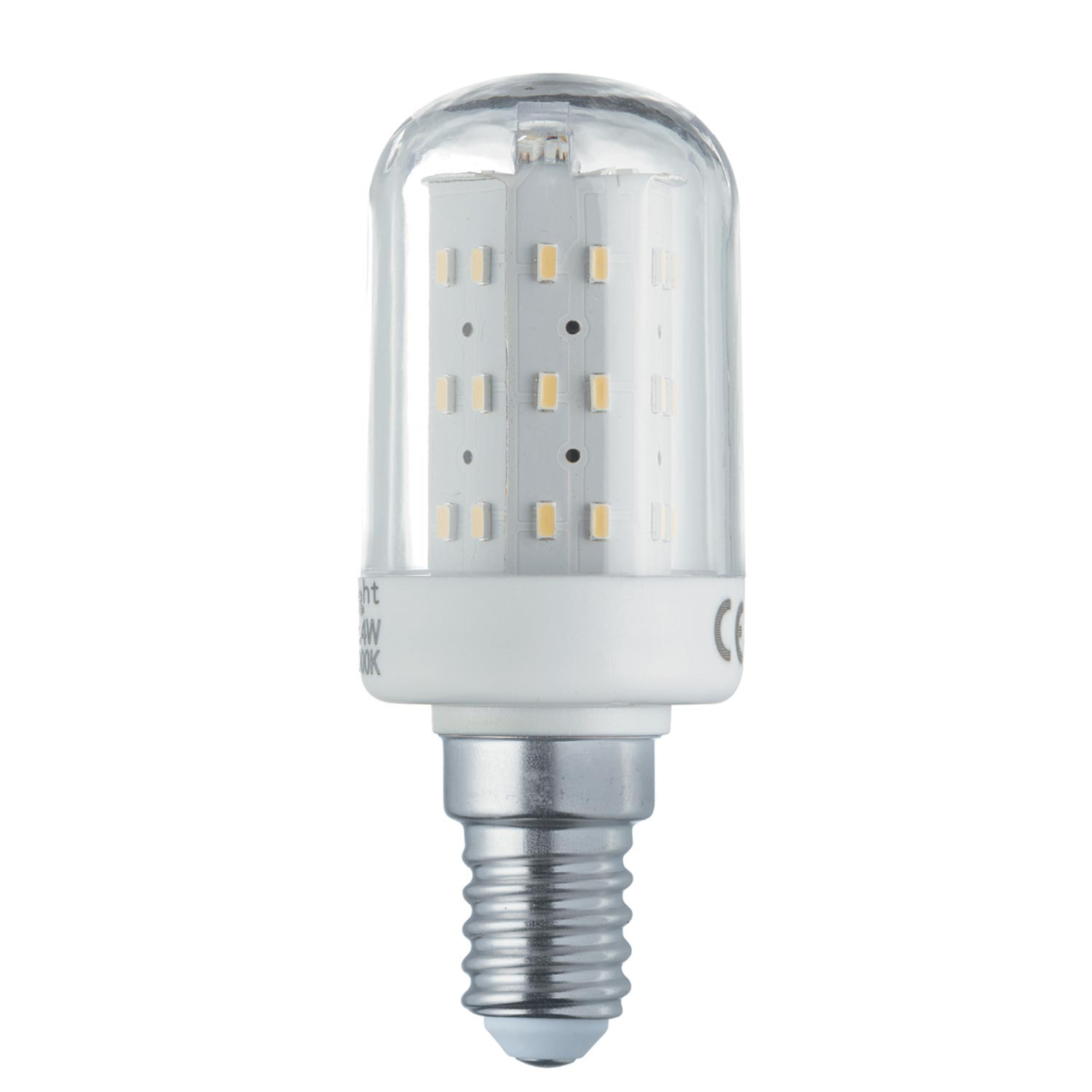 4w Led E14 Bulb 340 Lumens, Cool White