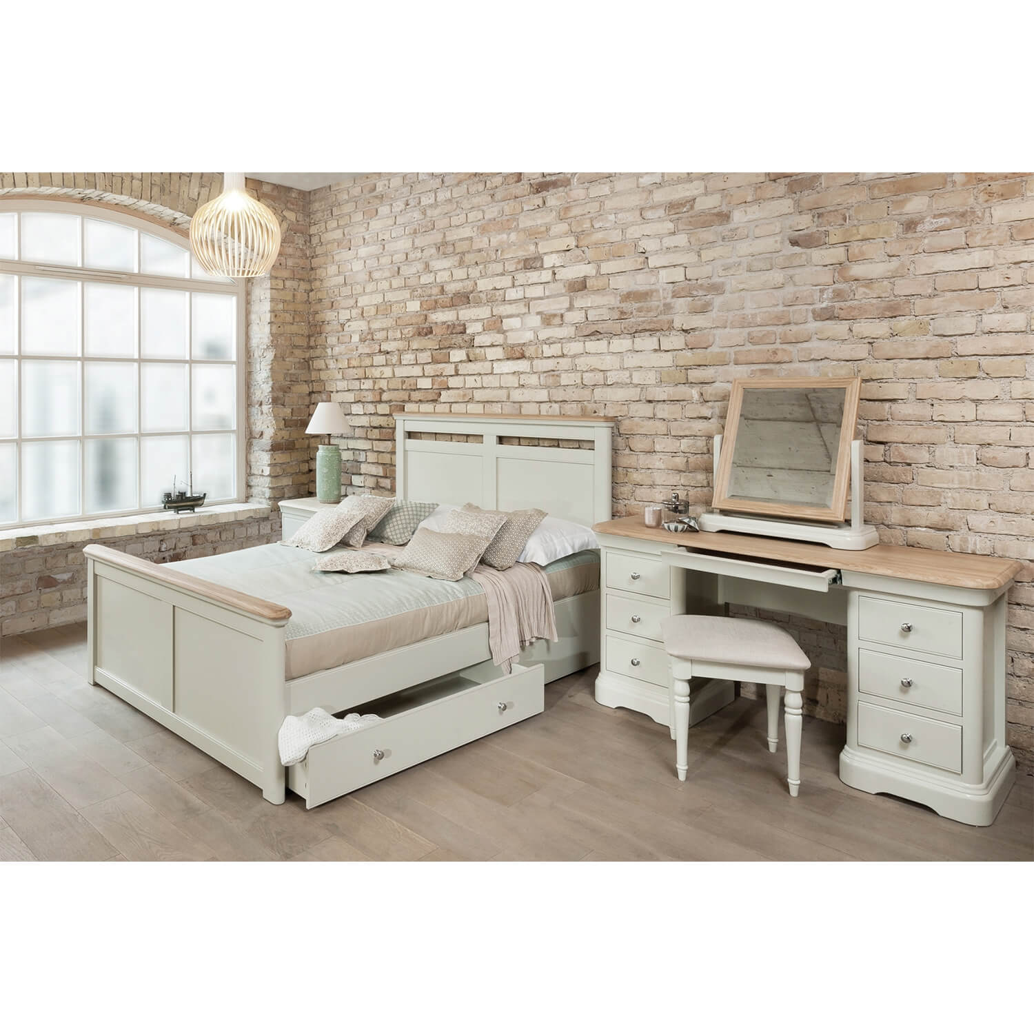 Image of Casa Cherbourg Bed With Storage, King