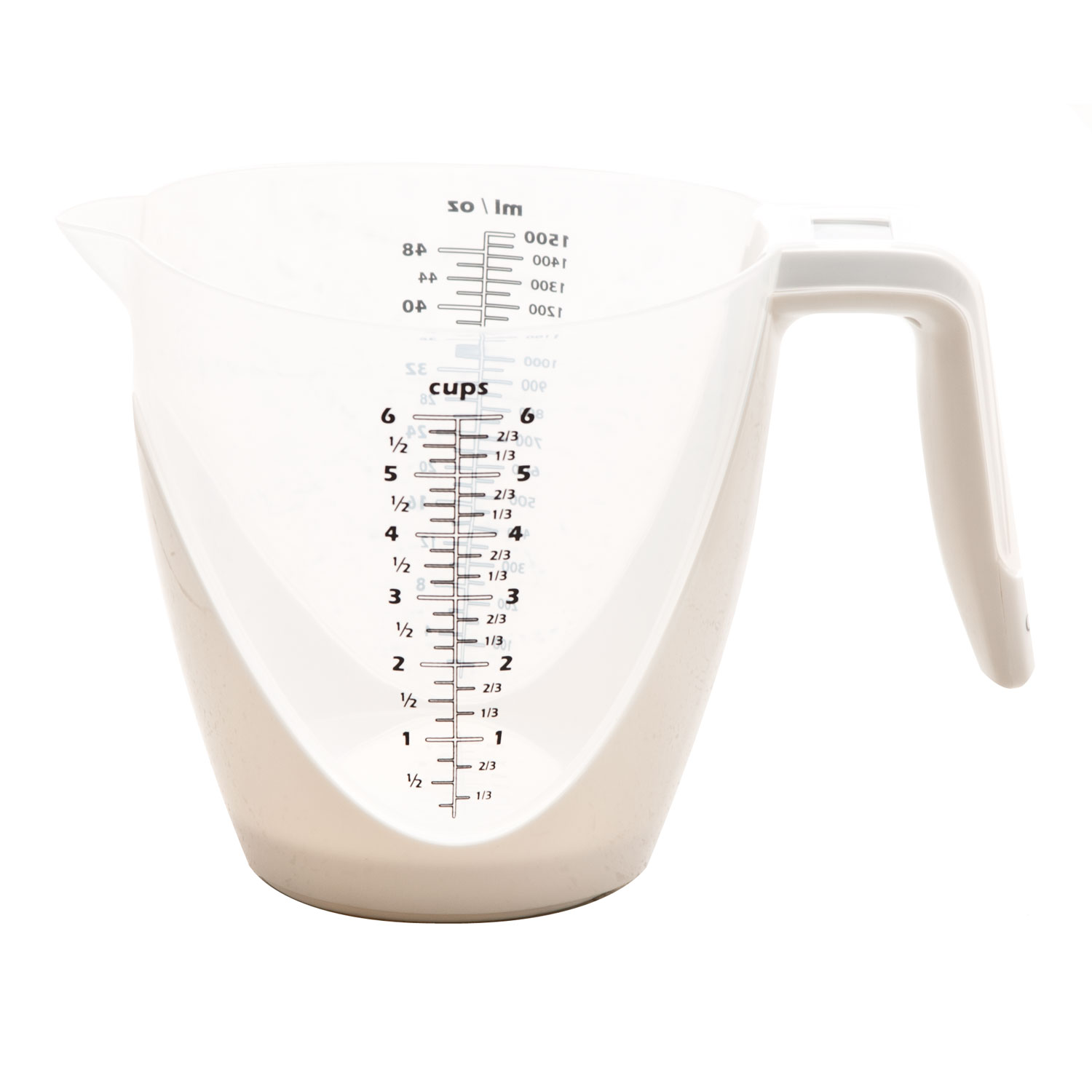 Image of Casa Digital Jug Measuring Scale, White