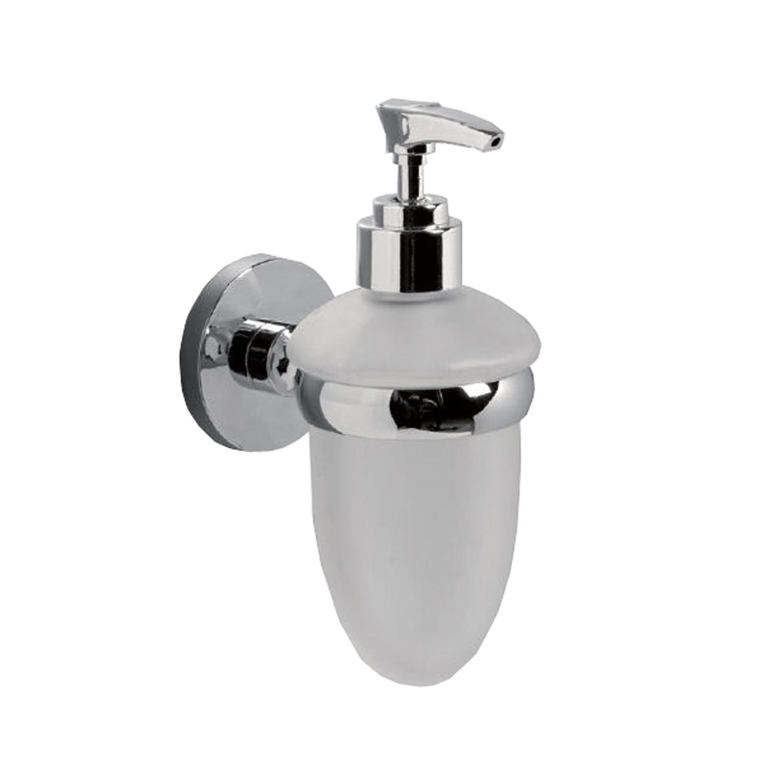 Image of Miller Lily Soap Dispenser, Chrome