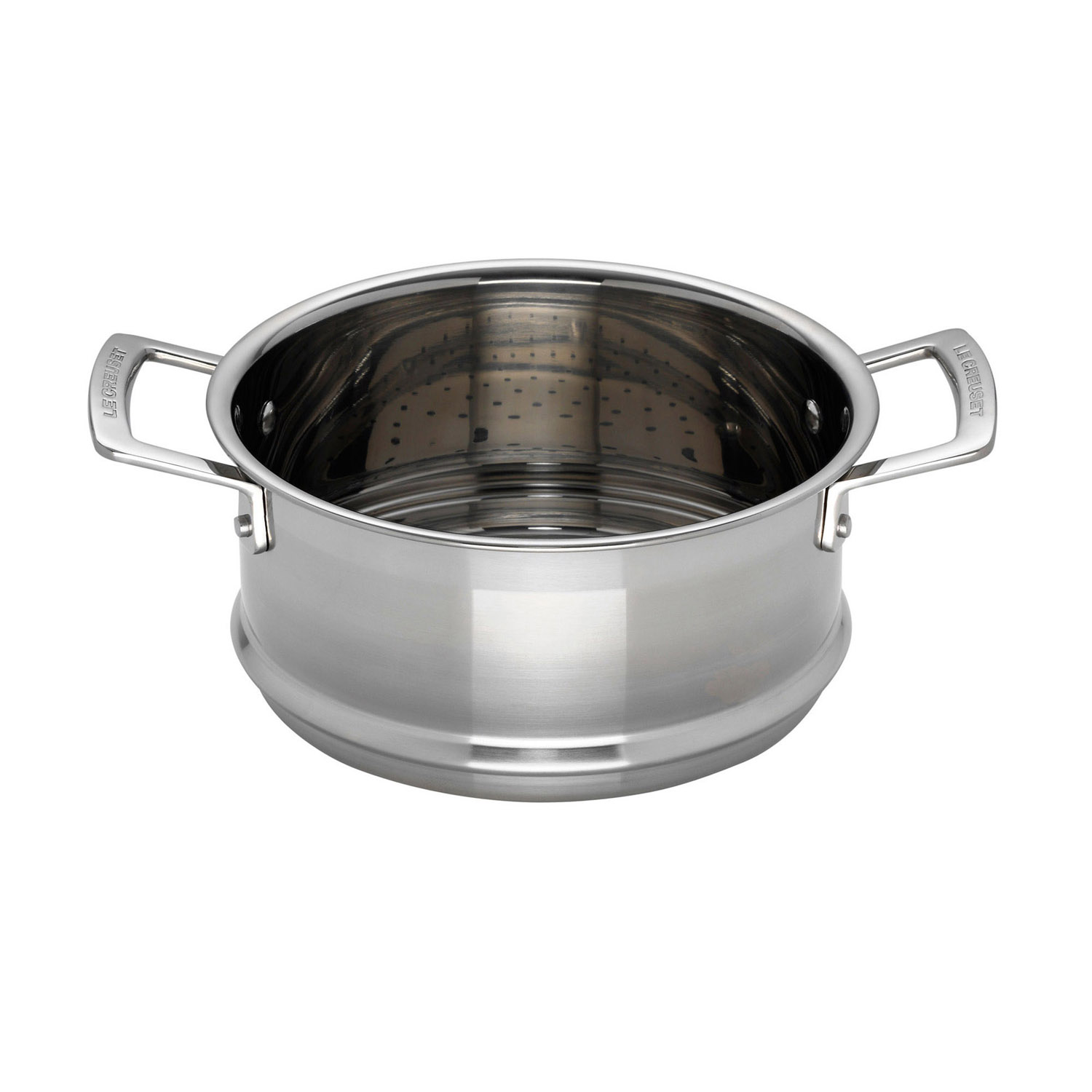 Image of Le Creuset 3-Ply Stainless Steel Steamer, 20cm