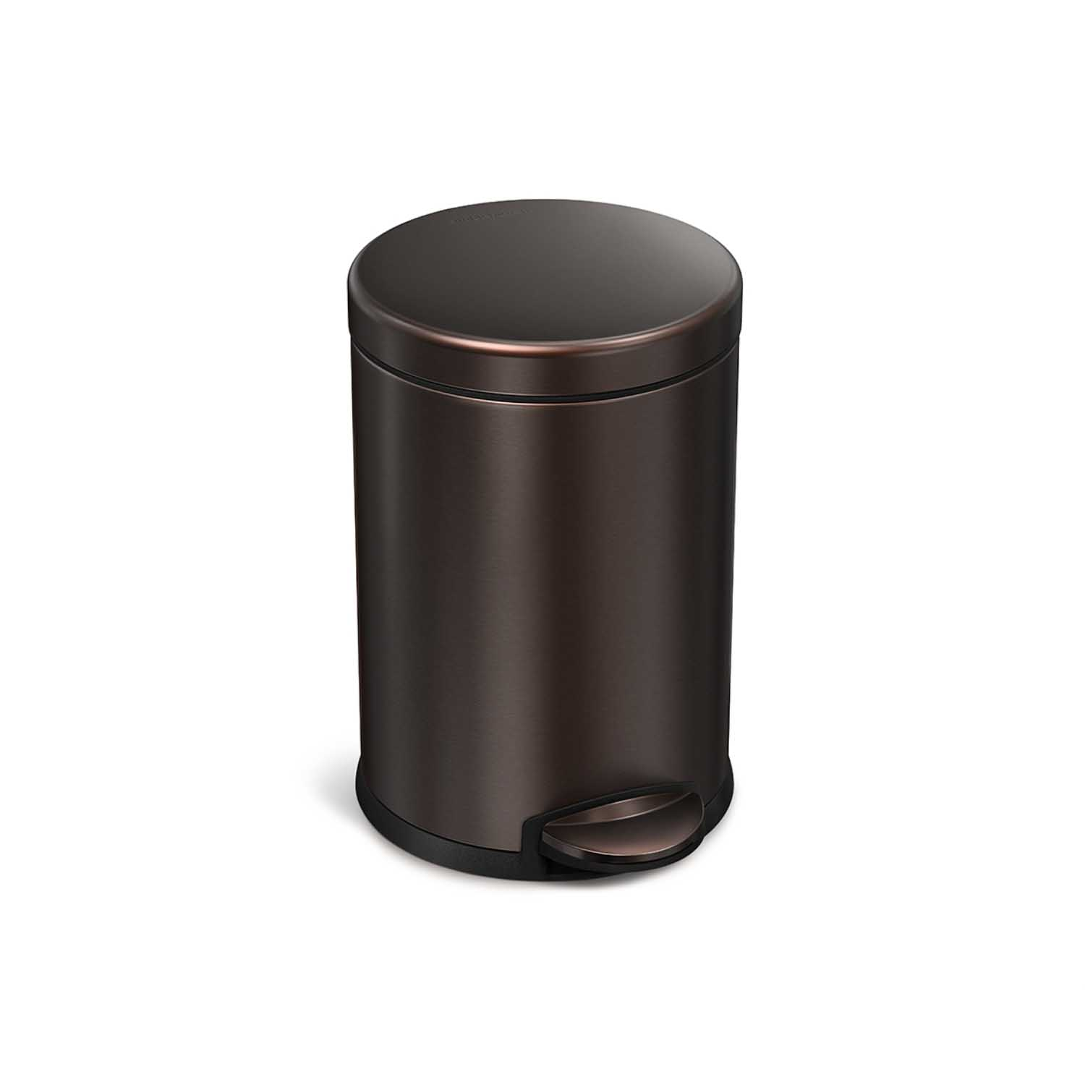 Image of Simplehuman 4.5l Pedal Bin, Dark Bronze