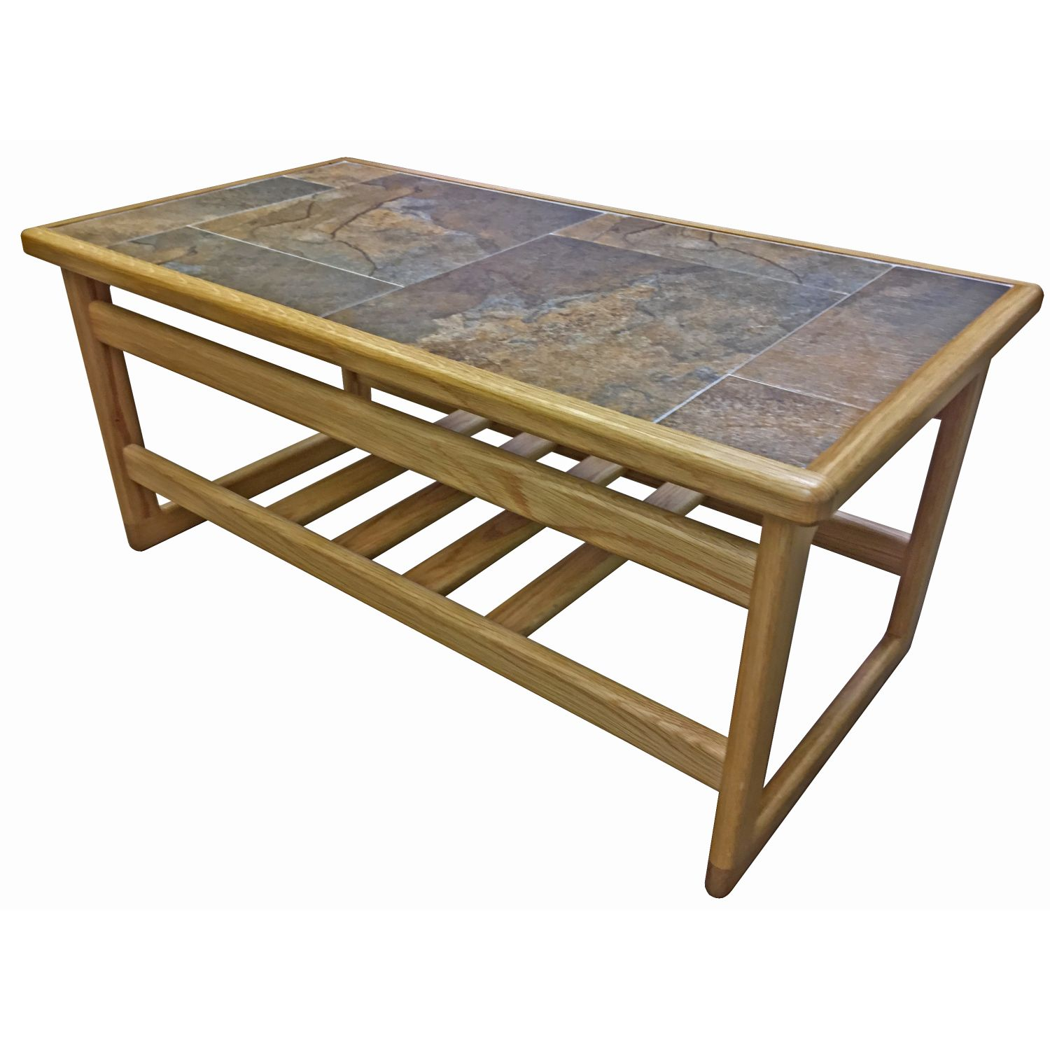Image of Casa Autumn Tile Top Coffee Table