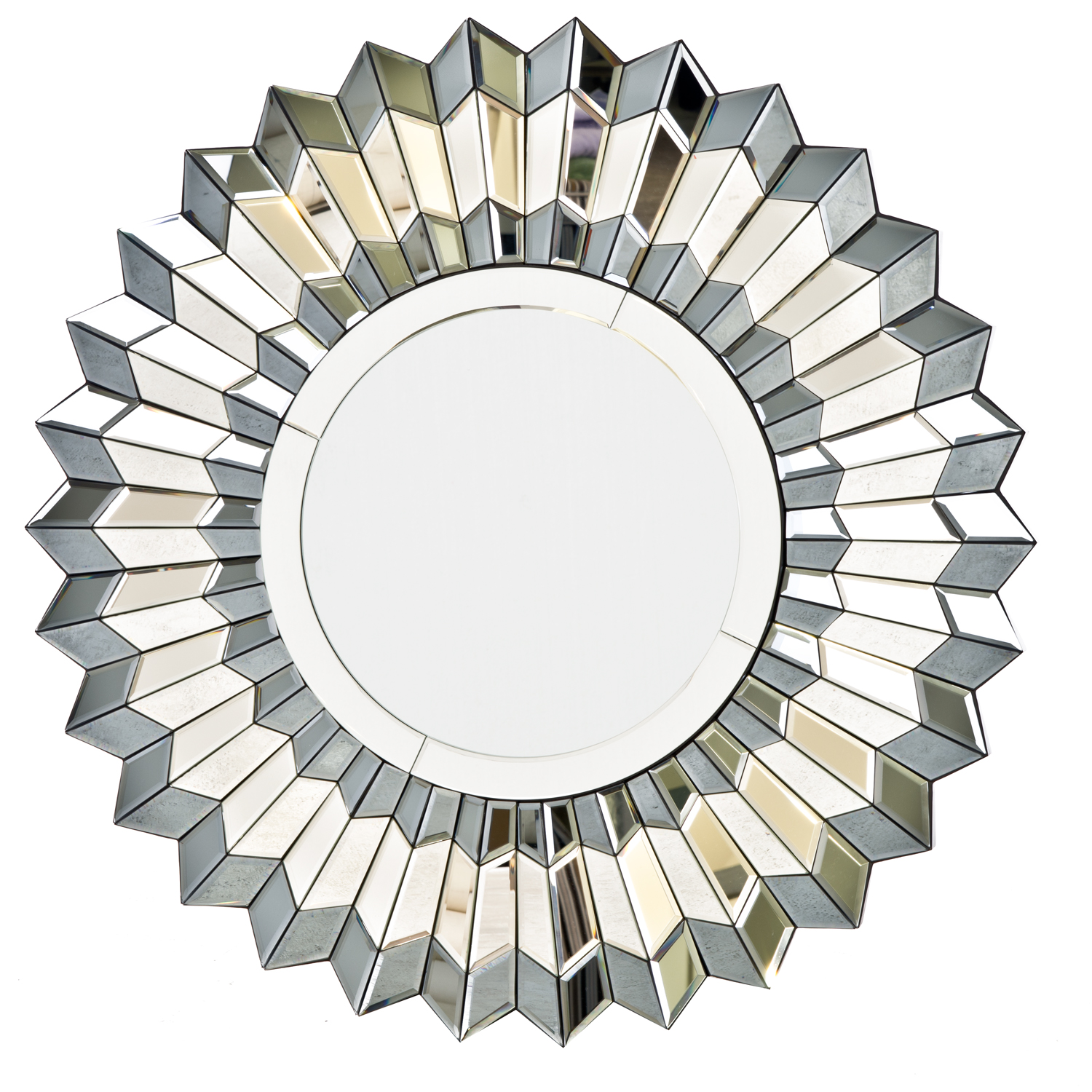 Image of Casa Silver Star Art Deco Mirror